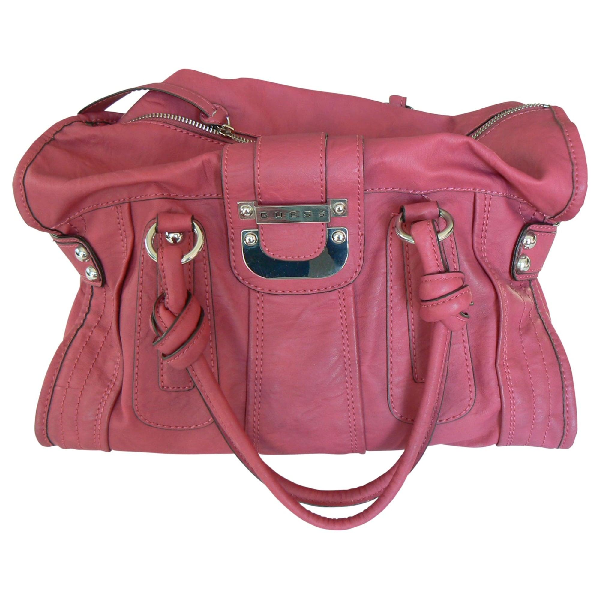 58bdfa45c2 Sac à main en cuir GUESS rose vendu par Moon. - 1980621