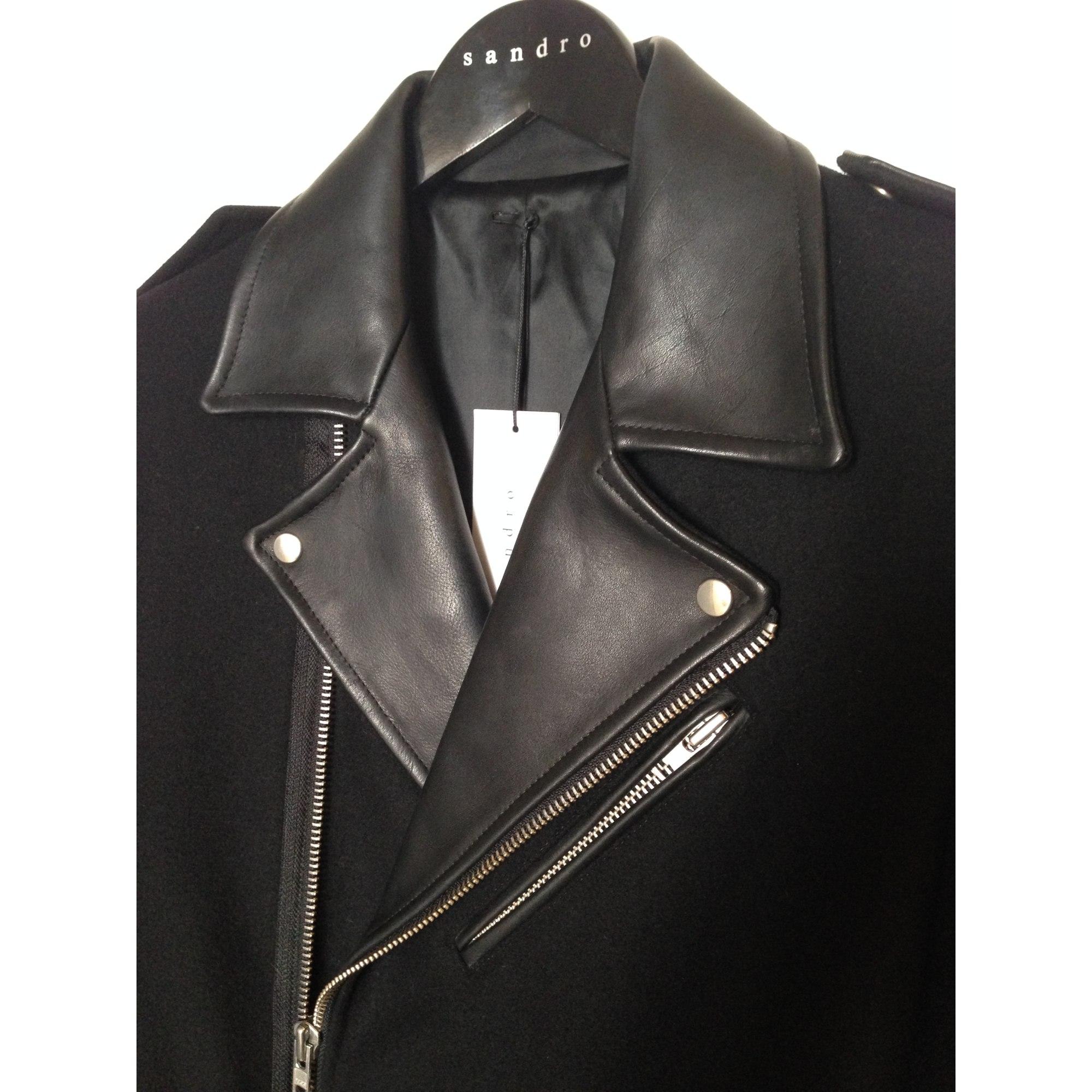 Manteau SANDRO 48 (M) noir vendu par Hody559803 - 1983345 22661f20119