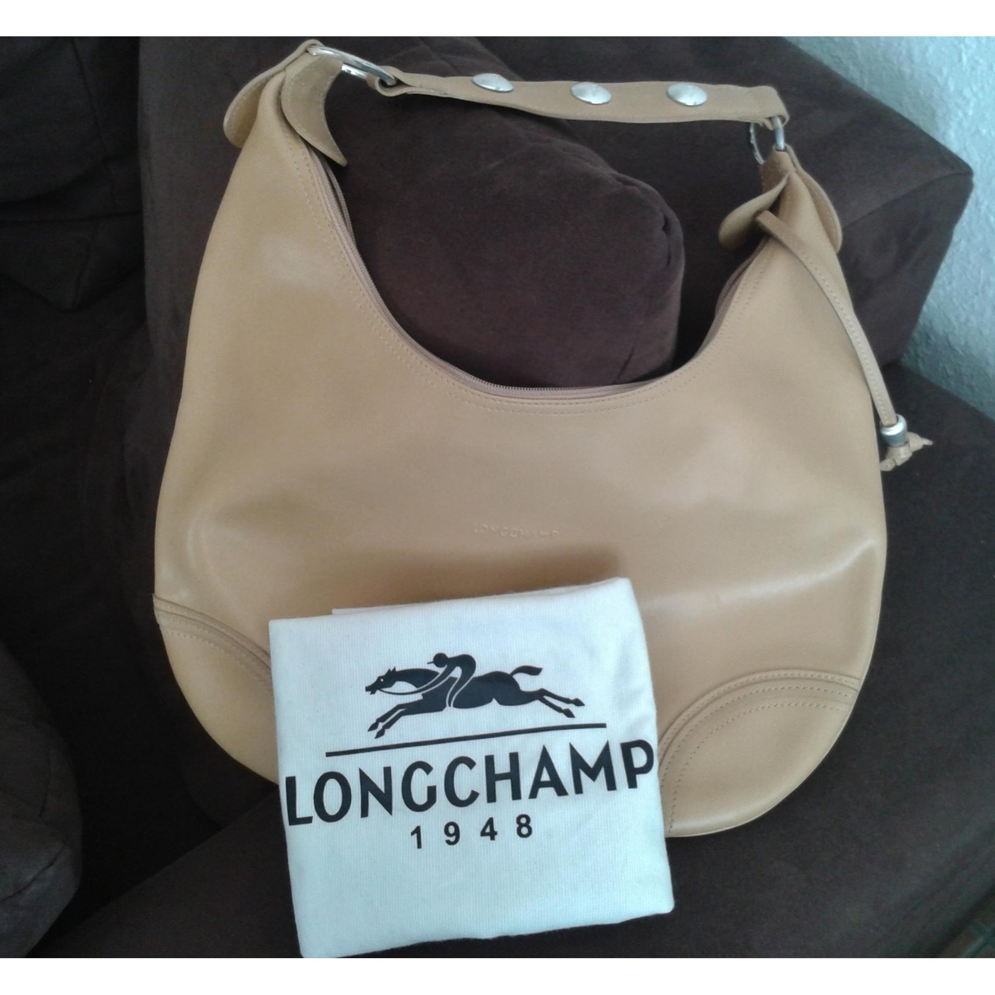 Main Beige 1987679 Longchamp À Sac En Cuir H29IEDW