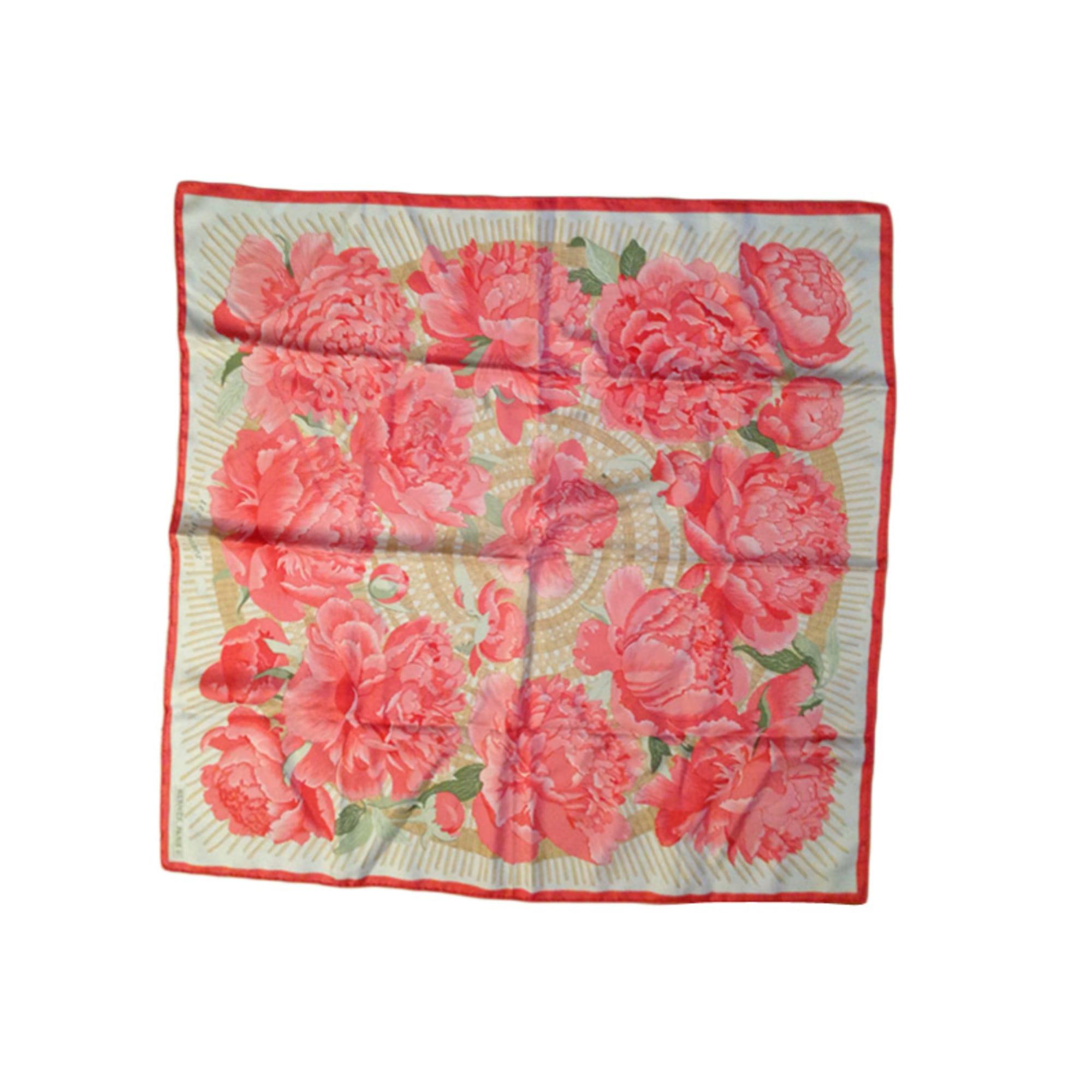 265a69925e Foulard HERMÈS Rose, fuschia, vieux rose
