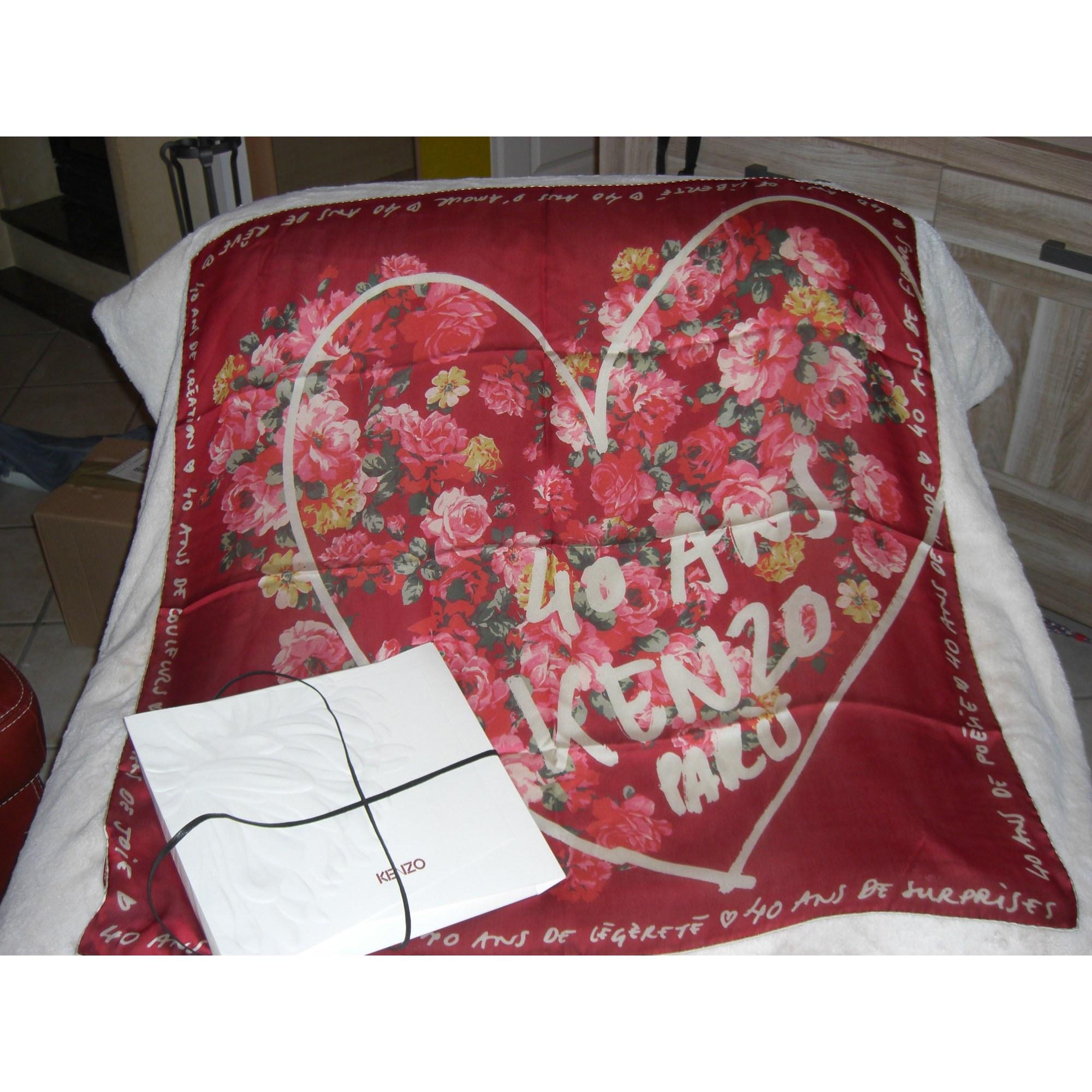 cb1d093d0346 Foulard KENZO rouge vendu par Casalook5250625 - 201419