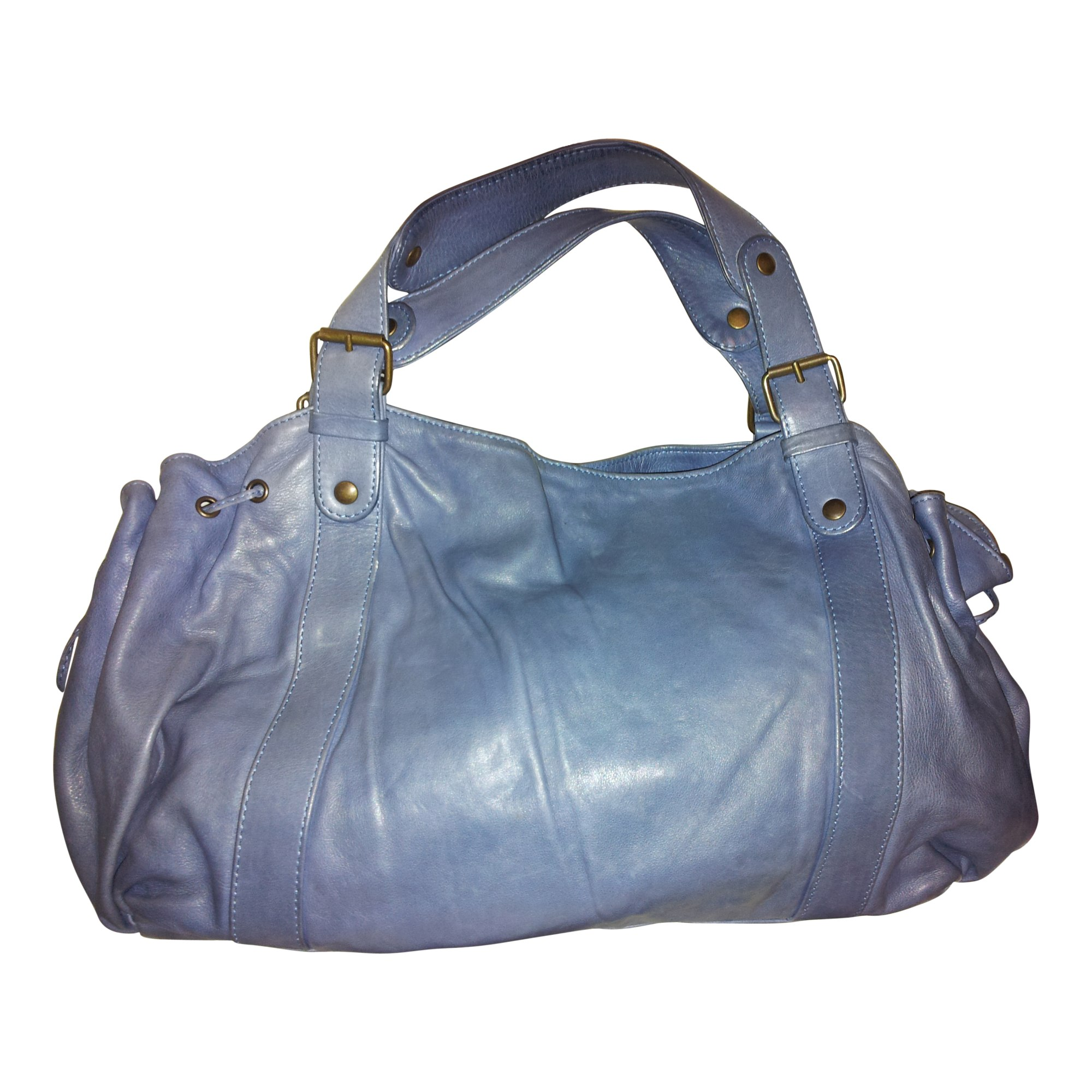 68f401f7ee3d Sac à main en cuir GERARD DAREL Bleu, bleu marine, bleu turquoise