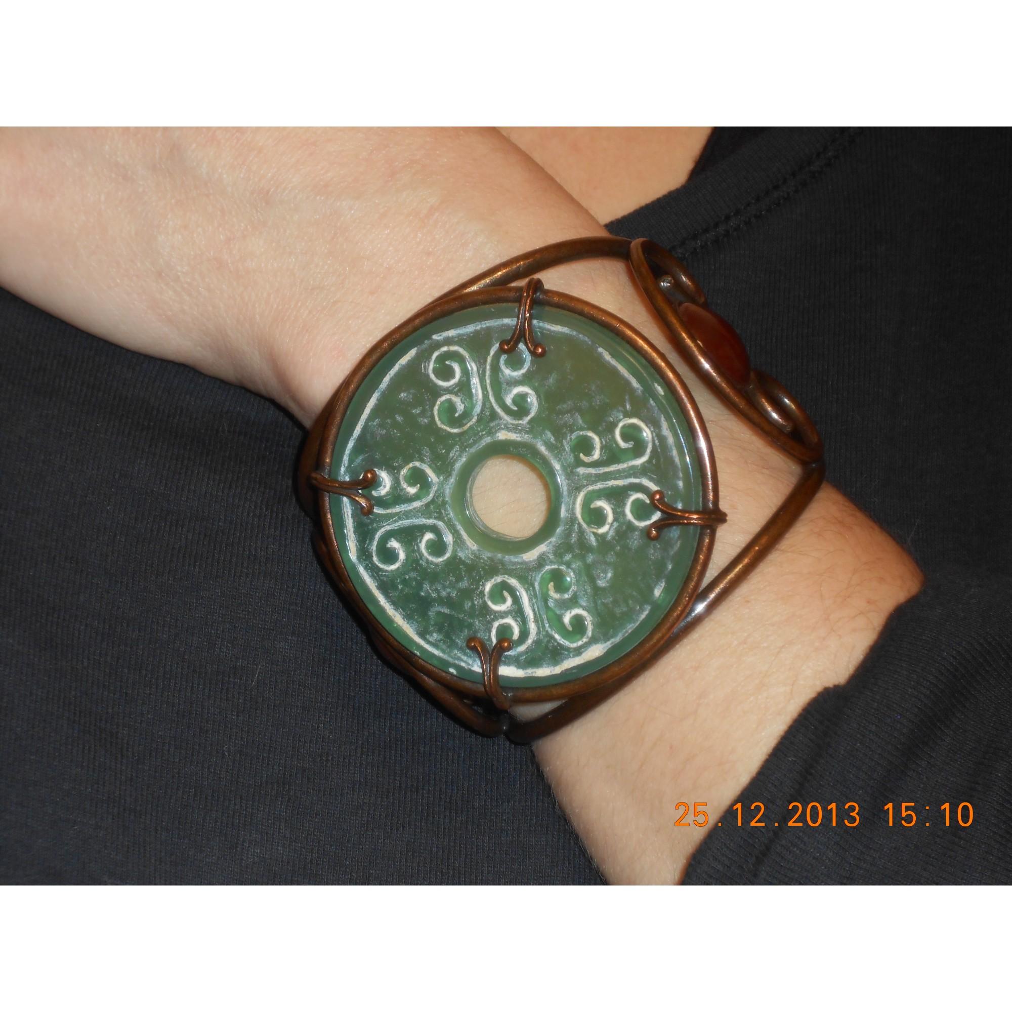 Bracelet PHILIPPE FERRANDIS bronze vert