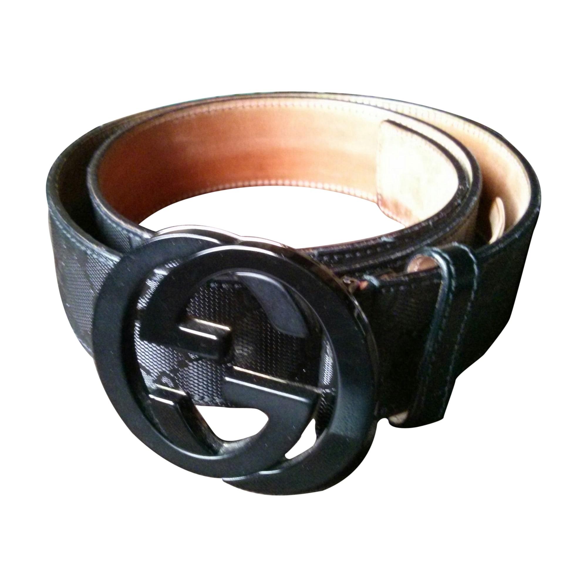 6068c58d89c2 Ceinture GUCCI 95 noir vendu par Le vestiaire de greg - 2045291