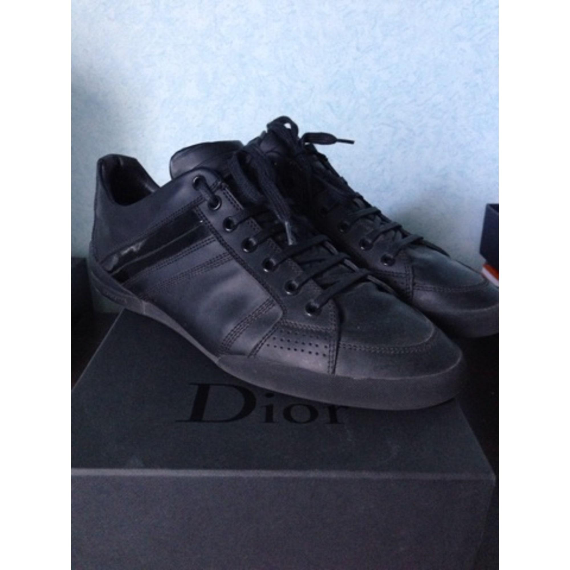 Baskets DIOR HOMME 41,5 noir vendu par Kislo - 2057463 3aa4457aea3