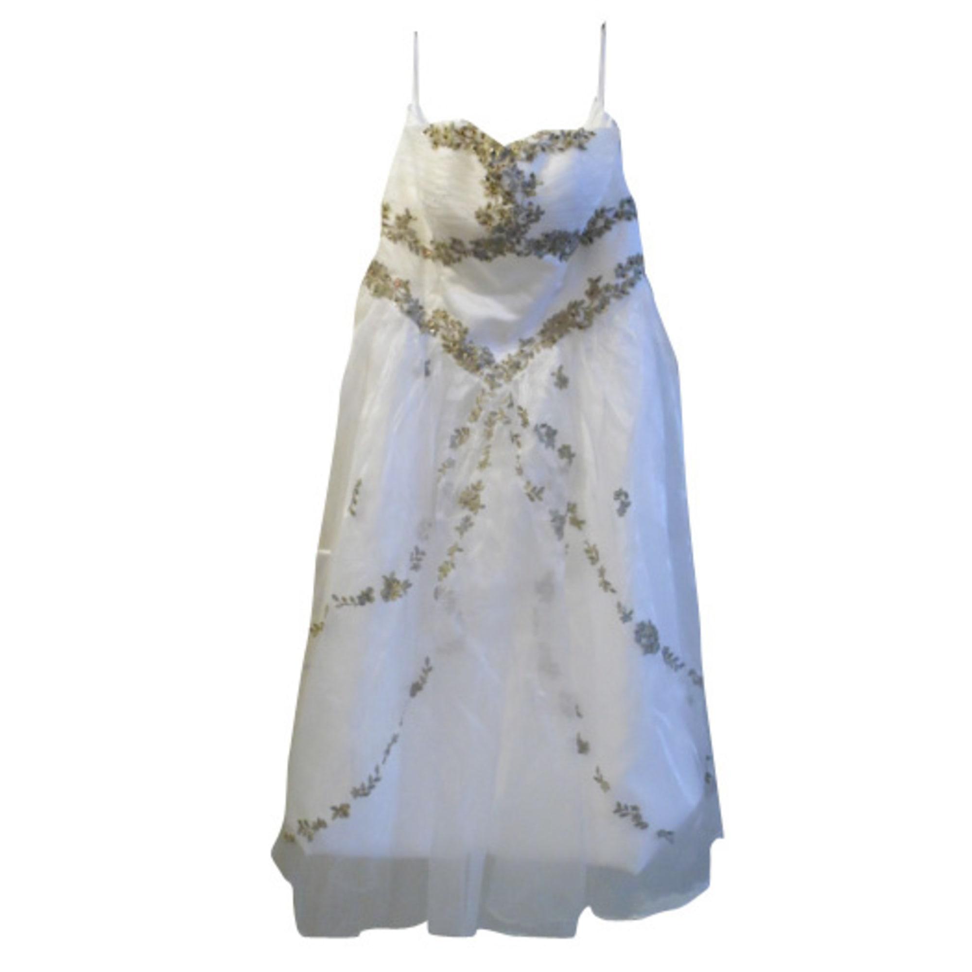45c5522a591 Robe de mariée MILLES ET UNE NUITS 50 (XXXXL) blanc - 2083646