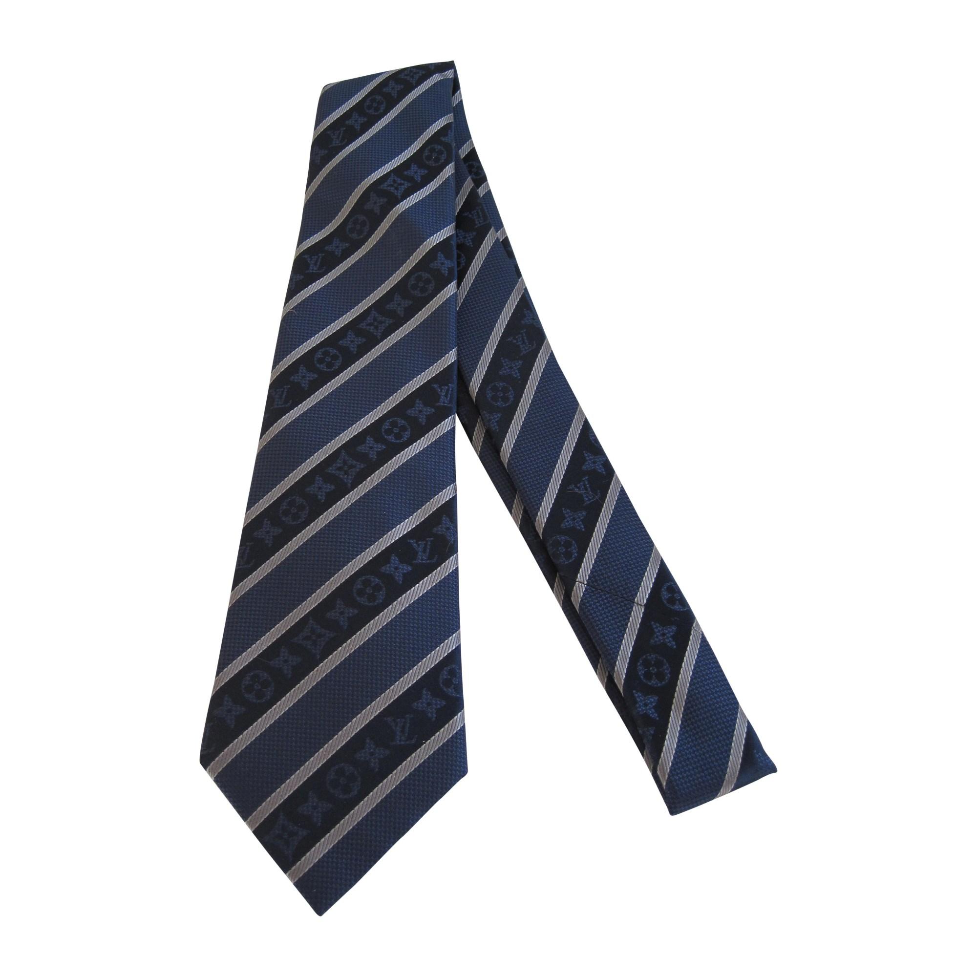 2dc5bb35801f4 Krawatte LOUIS VUITTON blau vendu par Maomao 8520406 - 2094726