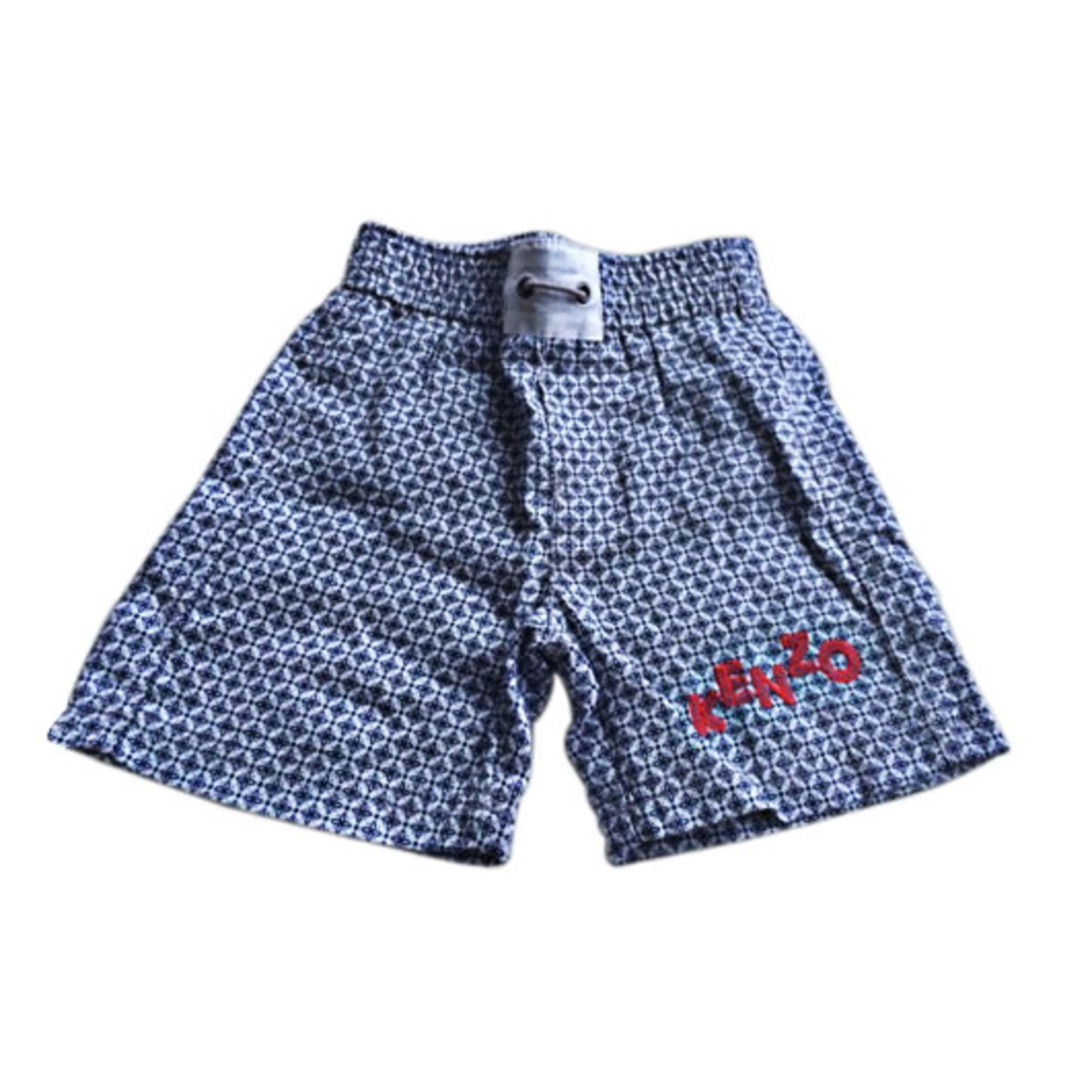Bermuda Shorts KENZO Blue, navy, turquoise