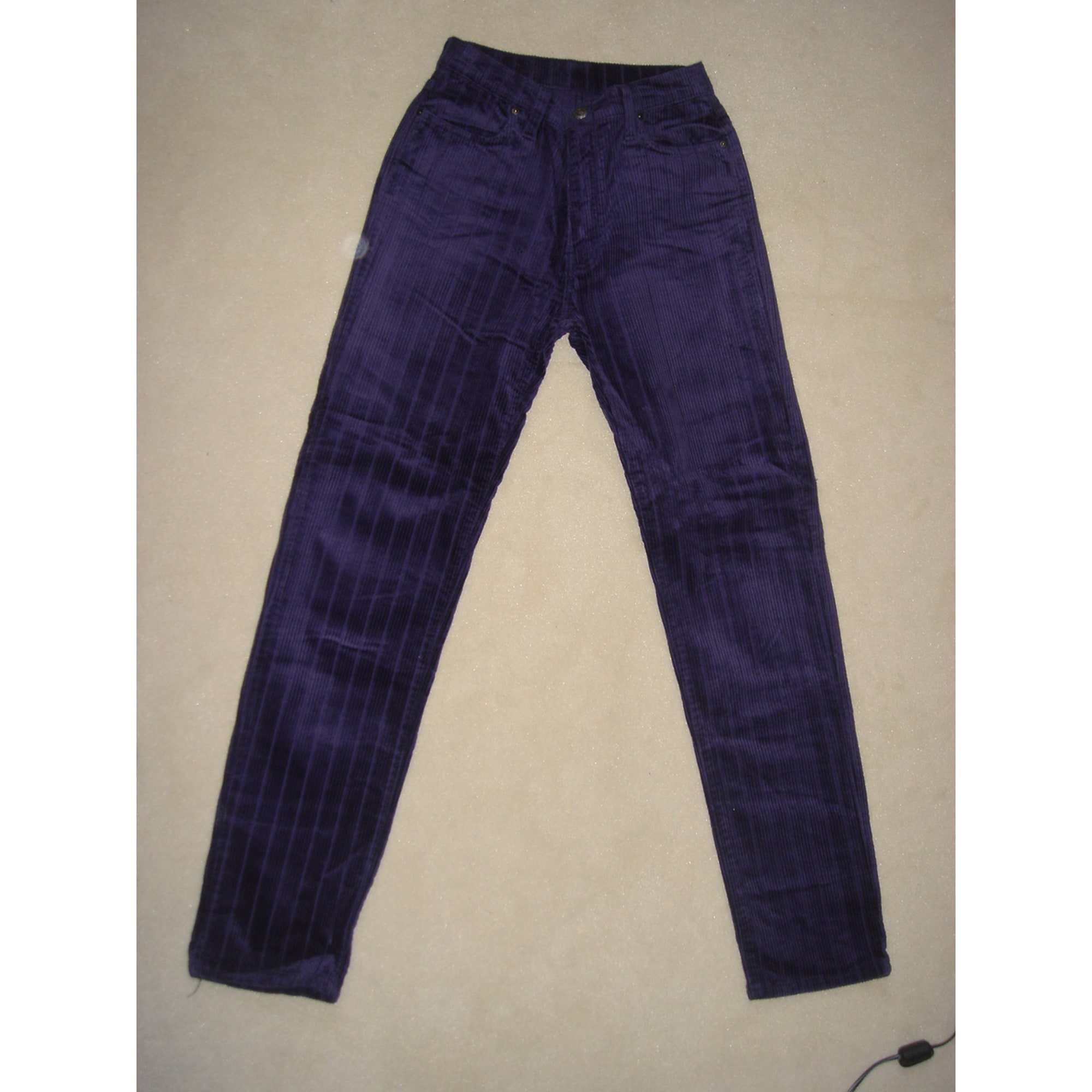 Pantalon TEDDY SMITH Violet, mauve, lavande
