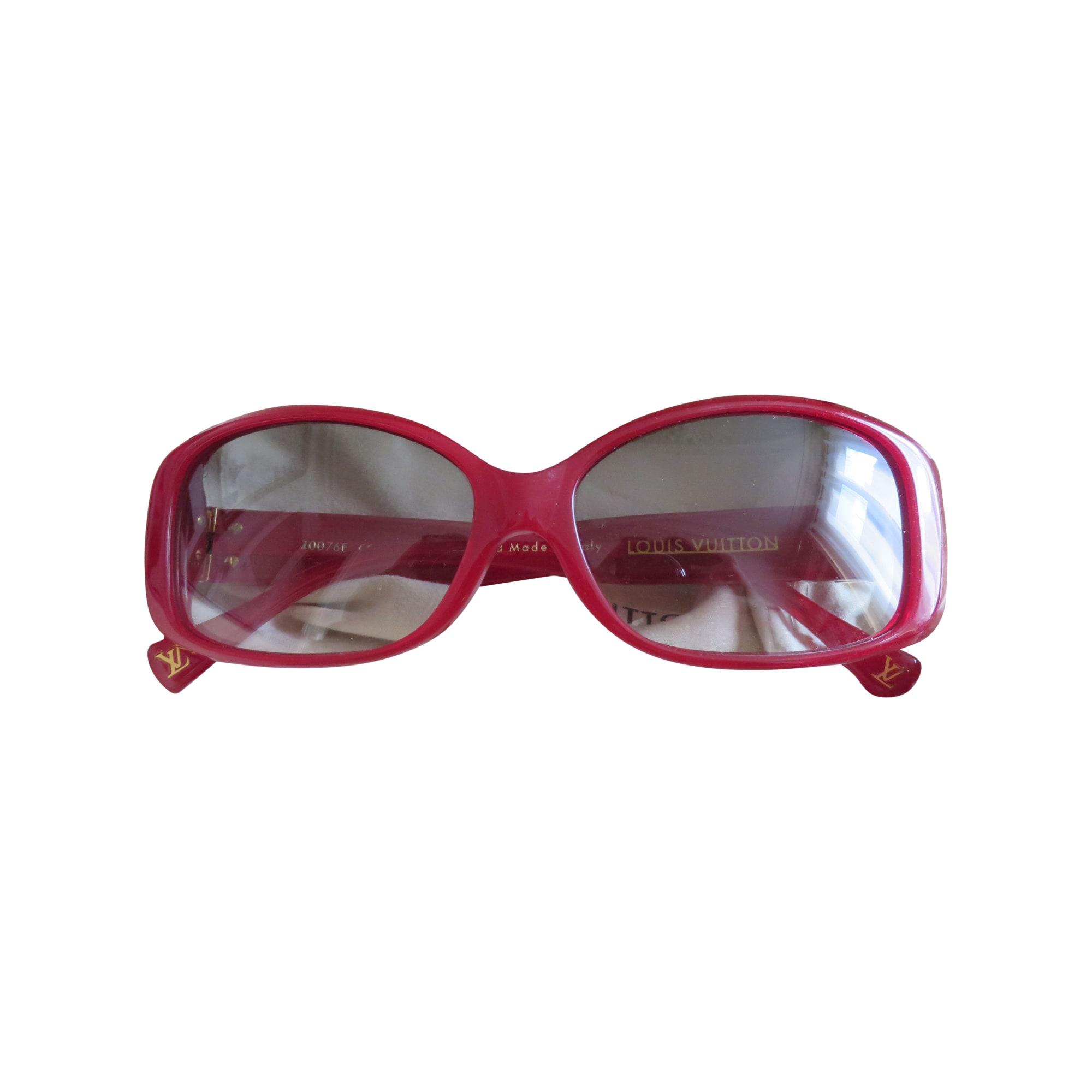 b726fe625387 Lunettes de soleil LOUIS VUITTON rouge vendu par Sophie516759 - 2141045