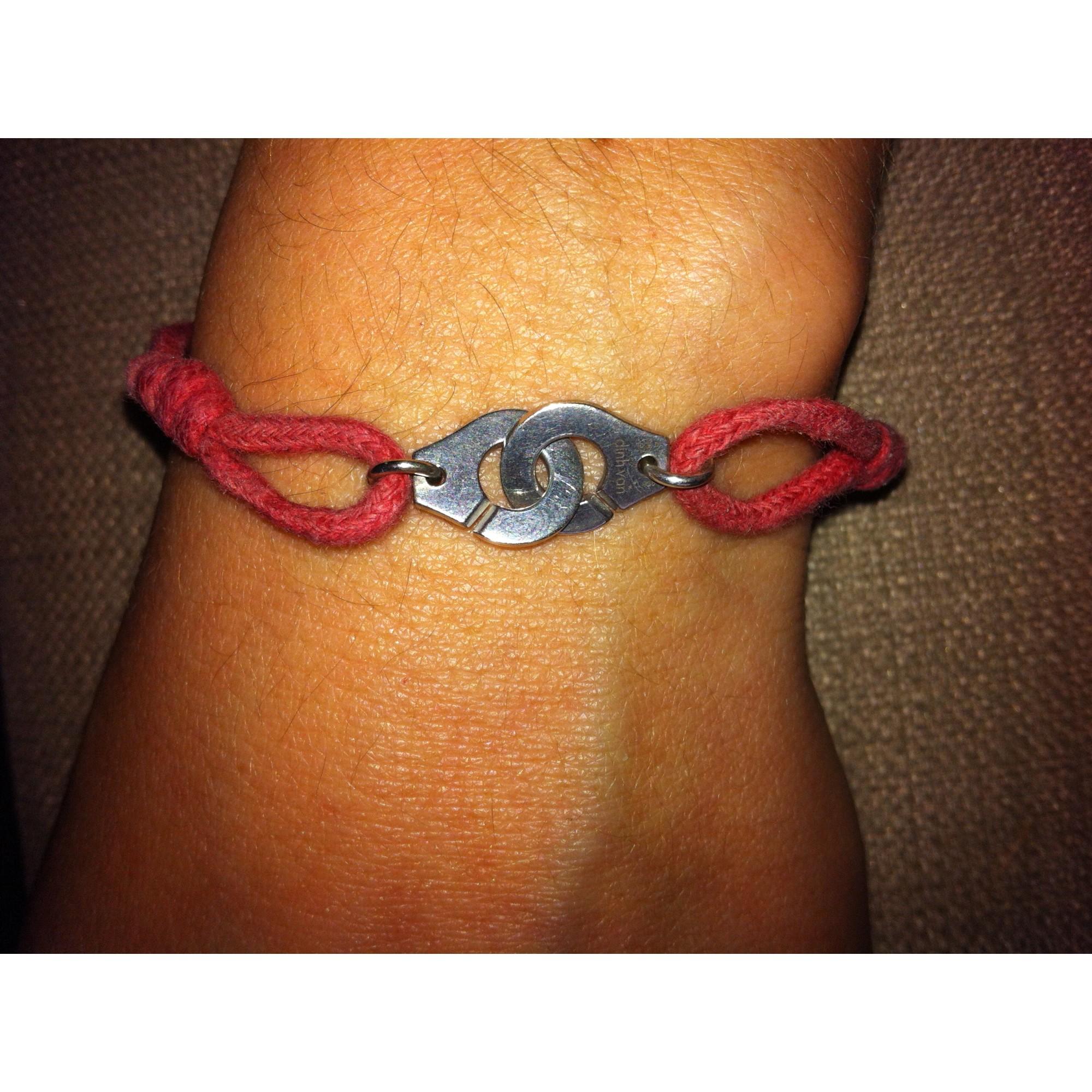 Bracelet DINH VAN Rouge, bordeaux