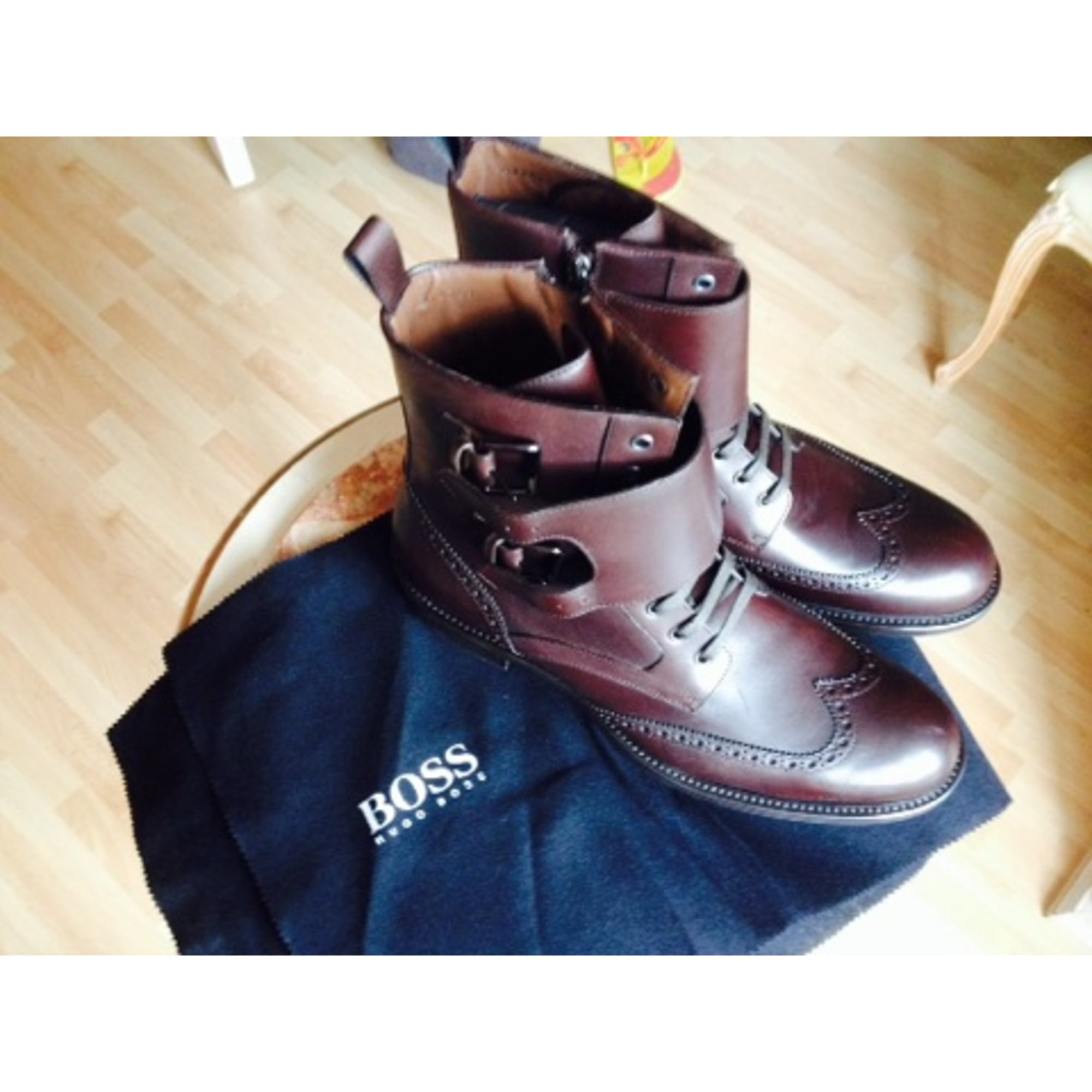 Boots HUGO BOSS Brown