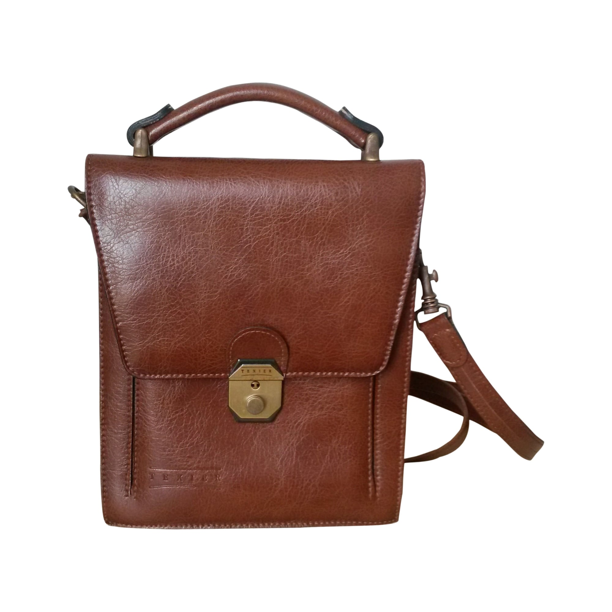 a9c16faeff5e Small Messenger Bag TEXIER brown vendu par Djay208391 - 2174952