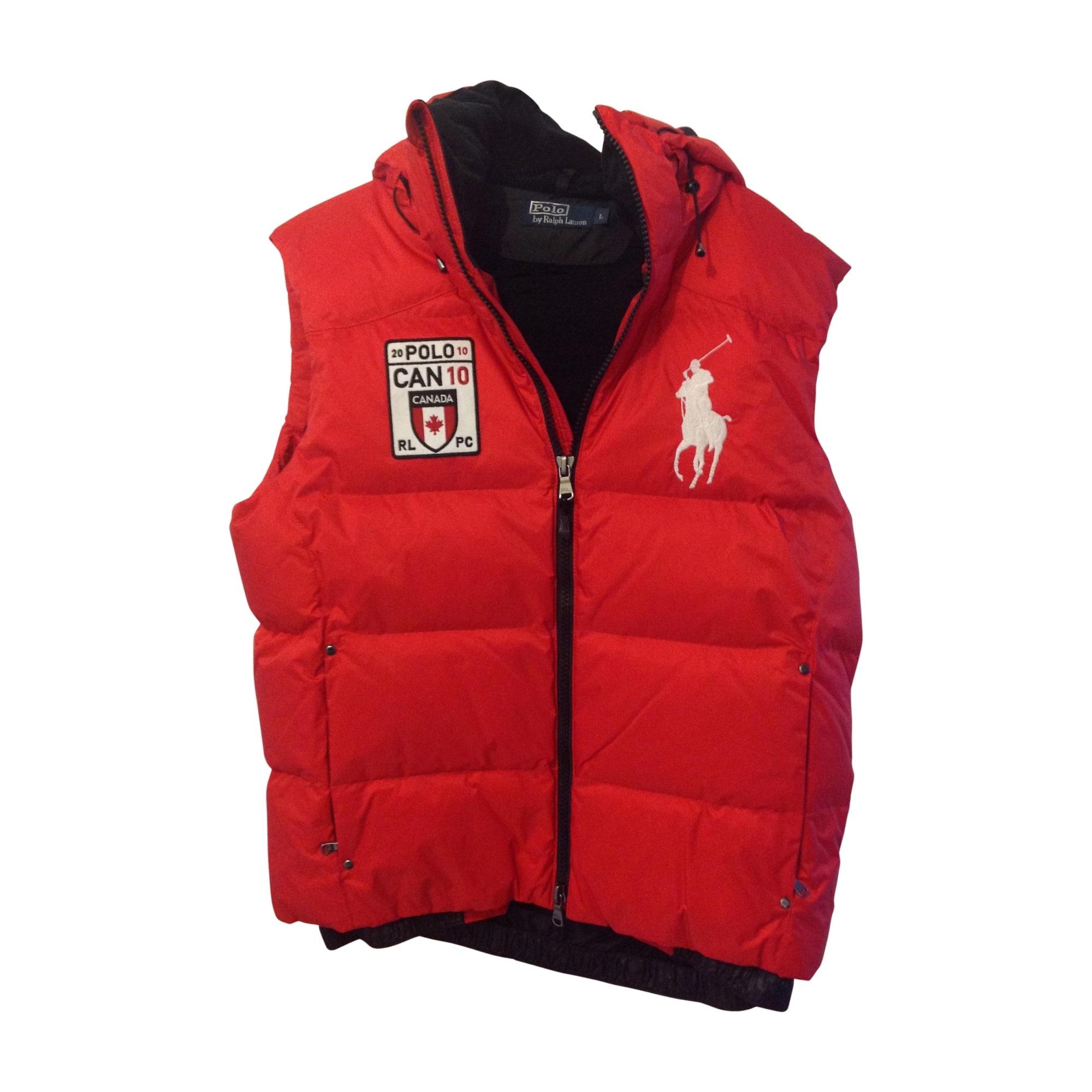 ac64c62ec1759 Doudoune RALPH LAUREN 52 (L) rouge vendu par Minab537281 - 2193702