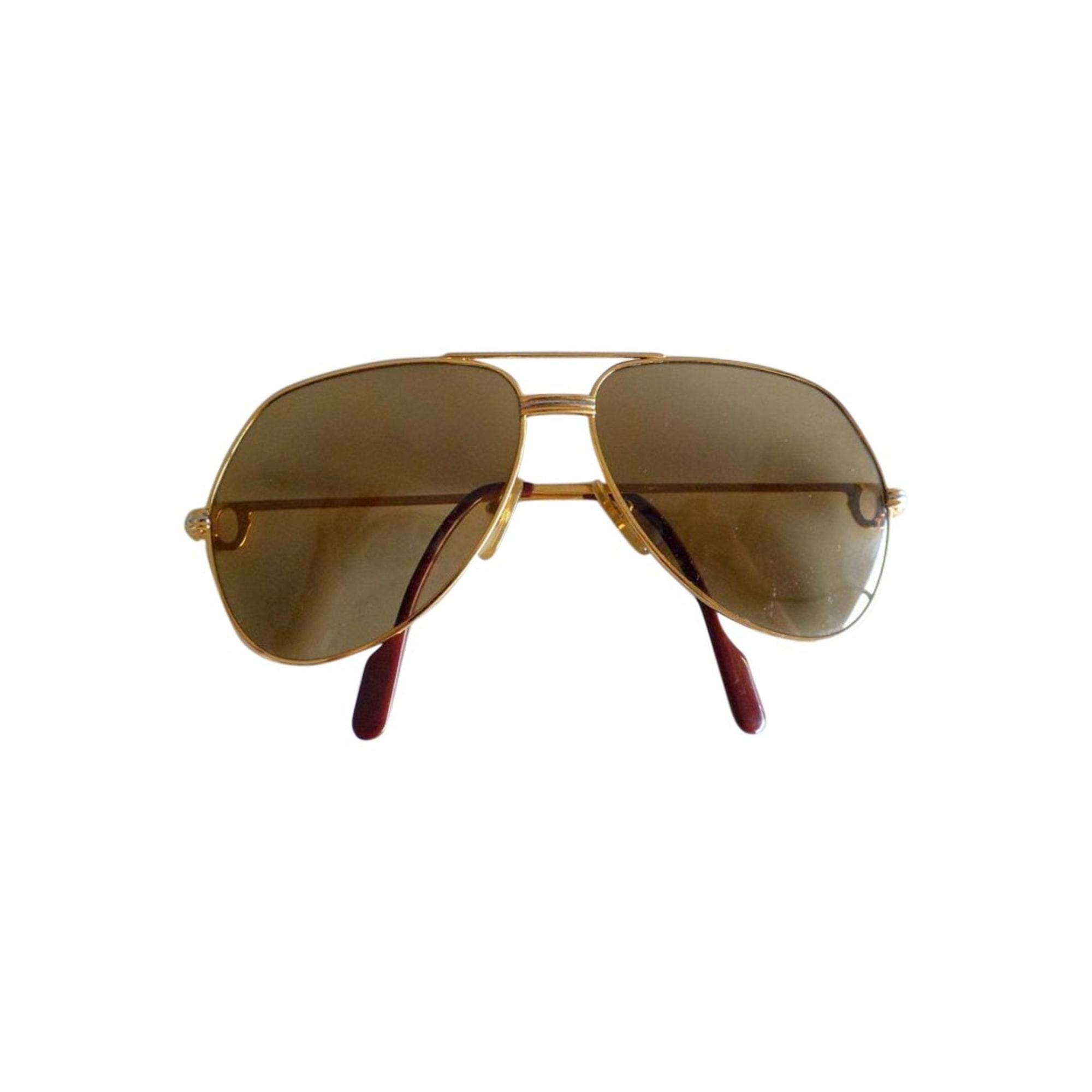 0b5984f7e6d Lunettes de soleil CARTIER doré vendu par Shopname605758 - 2205267