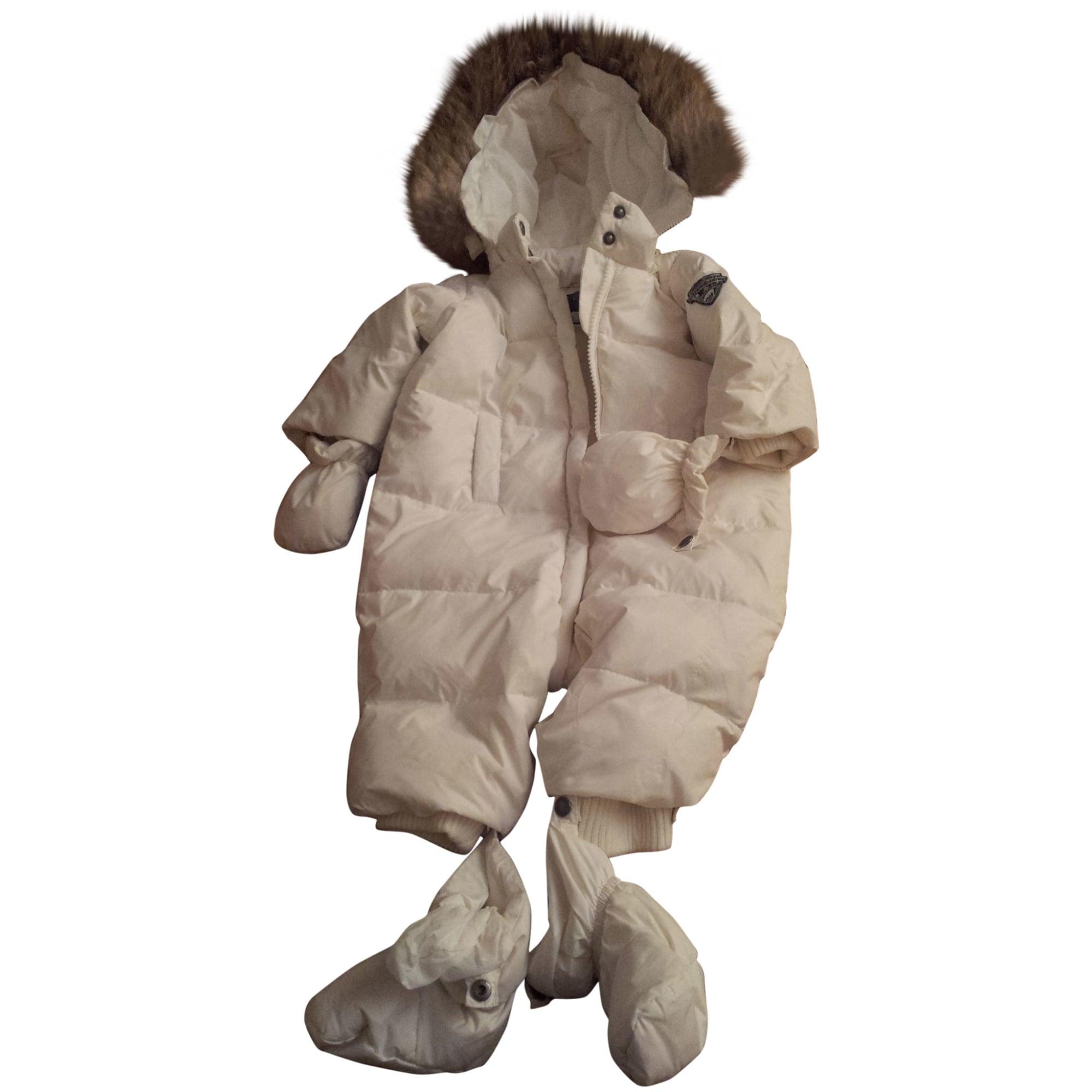 d2830364d Ensemble & Combinaison pantalon BONPOINT 18 mois blanc vendu par ...