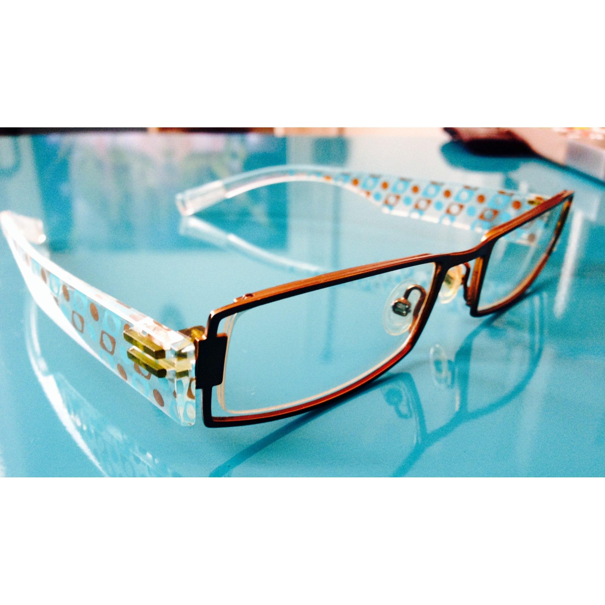 baf9f82b1aec9d Monture de lunettes DILEM marron - 2216267