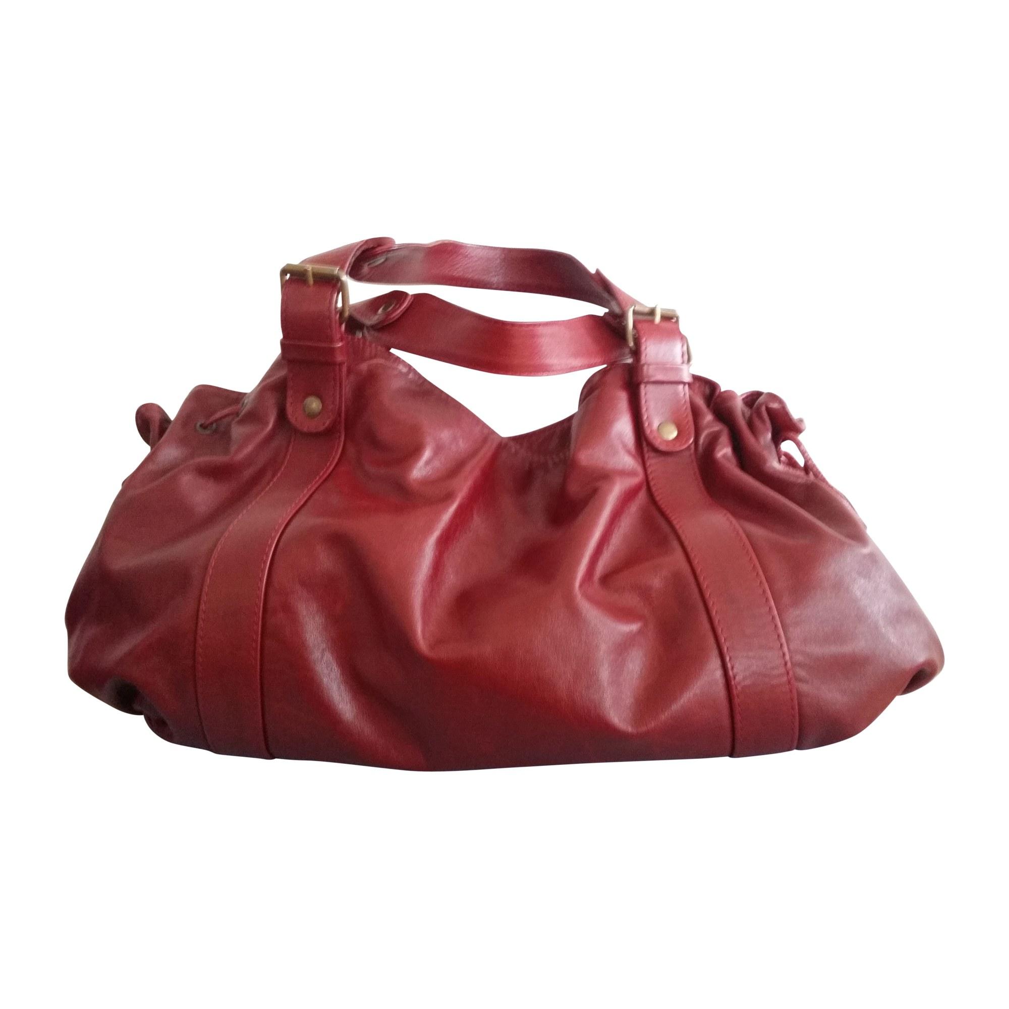Sac à main en cuir GERARD DAREL rouge vendu par Mamzelle zaza - 2230600 5c73fd21154