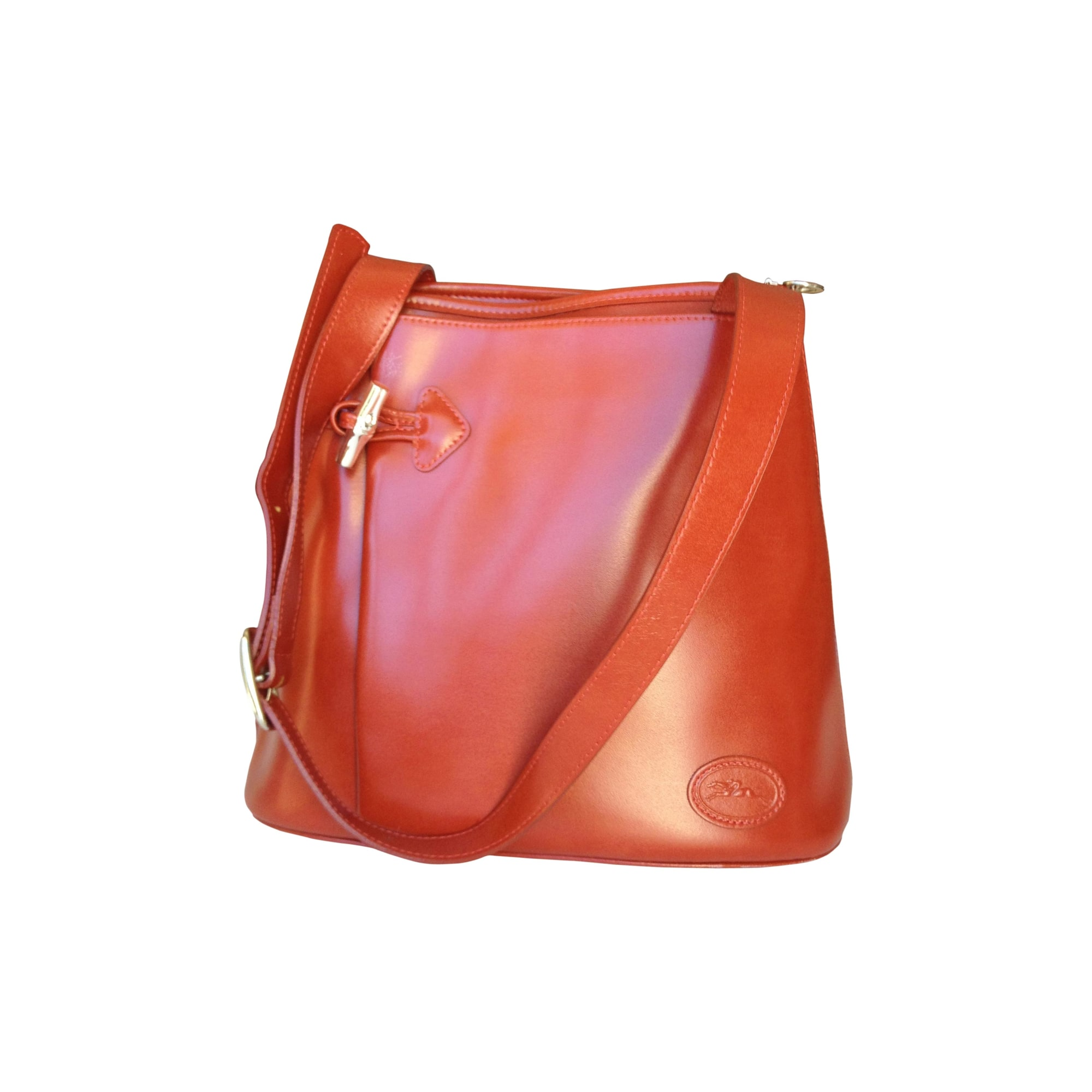 Brick tracolla a By Borsa Sophie pelle Longchamp in Red Sold WaYfq5Zw