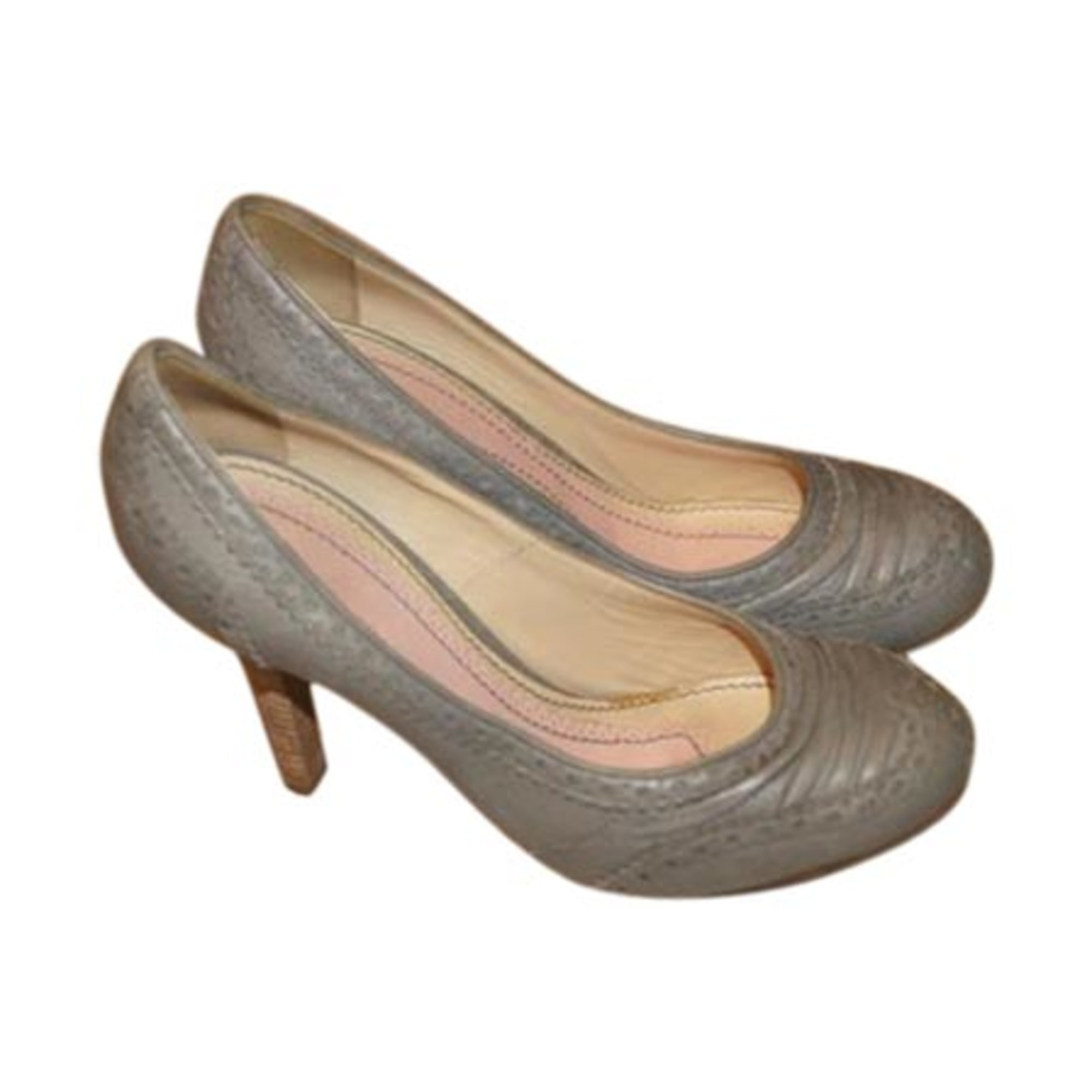 Escarpins JOHN GALLIANO Gris, anthracite
