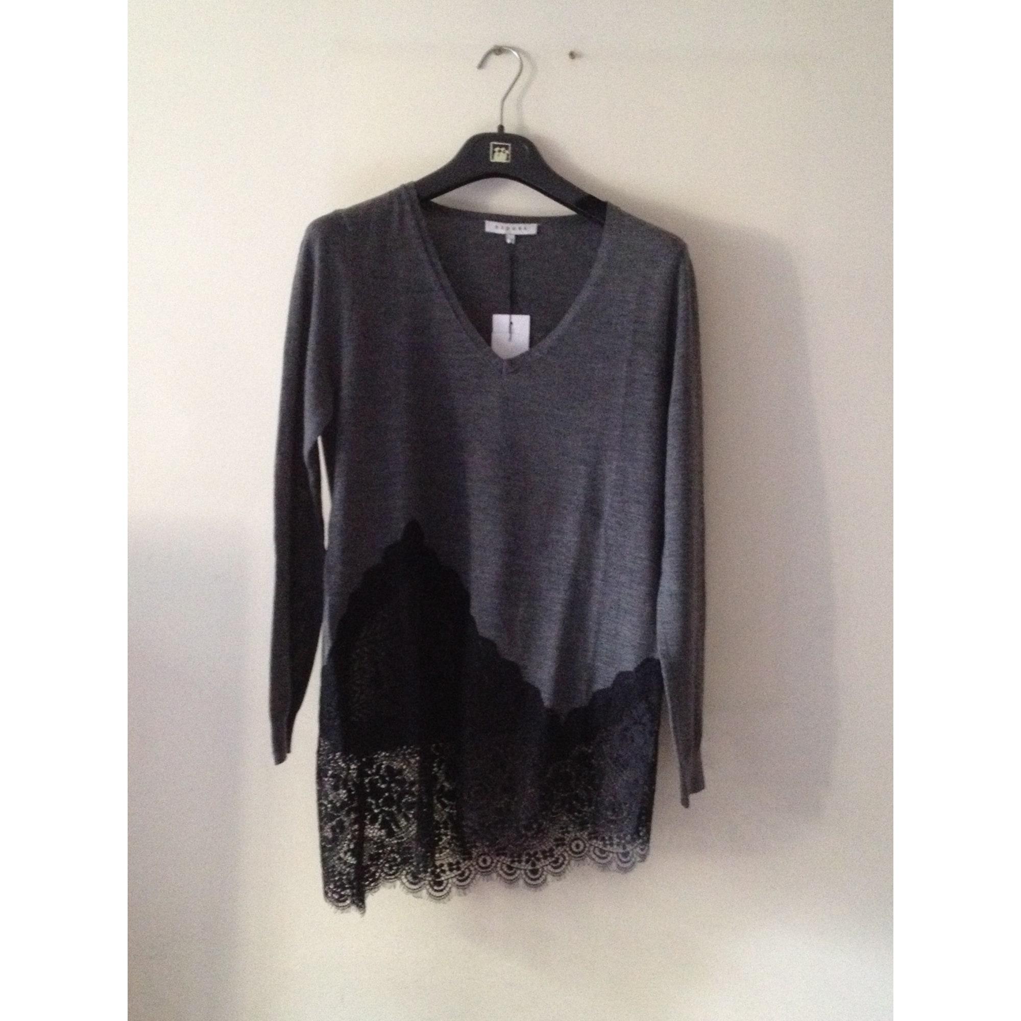 3c676cca460 Tunic Sweater SANDRO 36 (S, T1) gray vendu par Shopname58745 ...