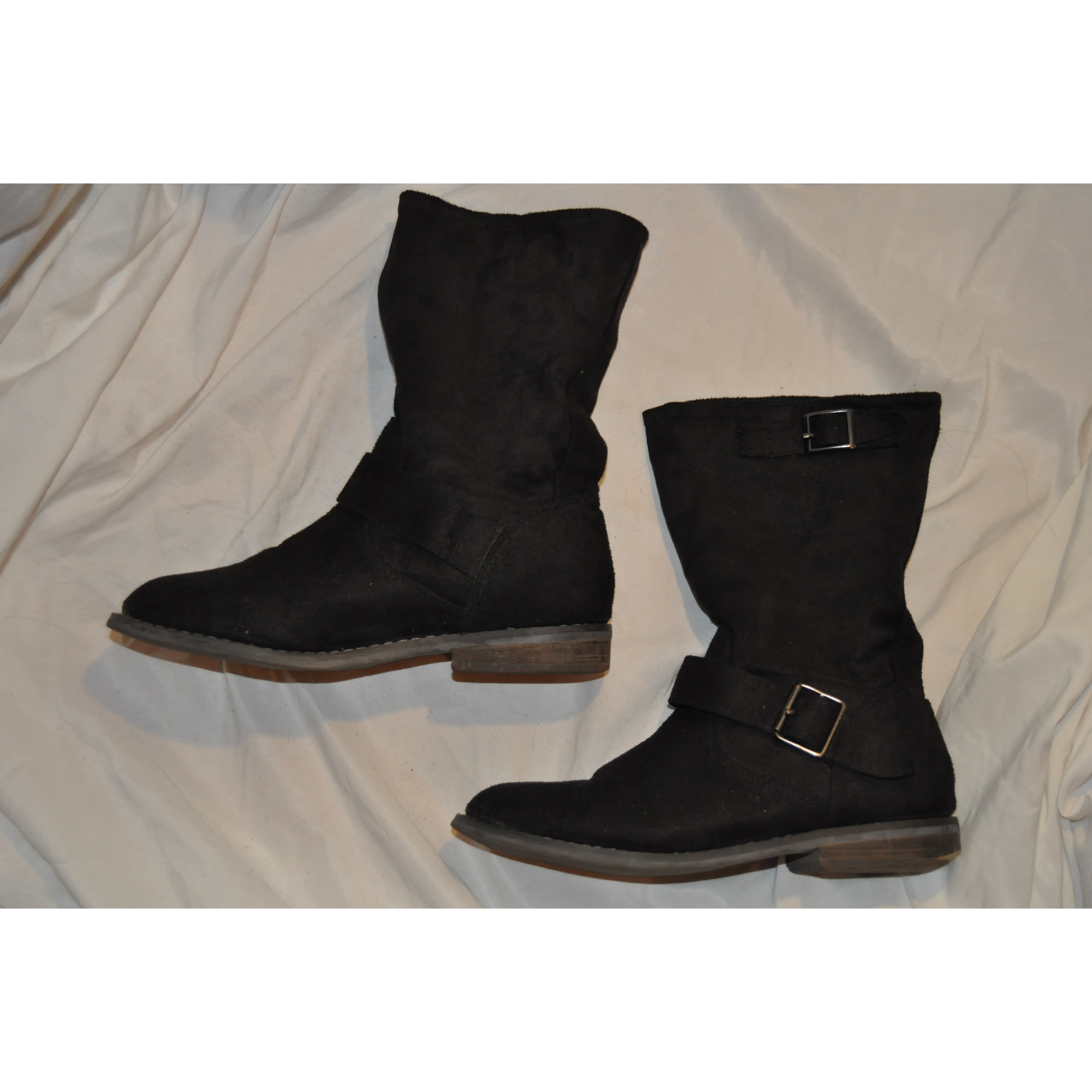 Bottines & low boots motards LA REDOUTE