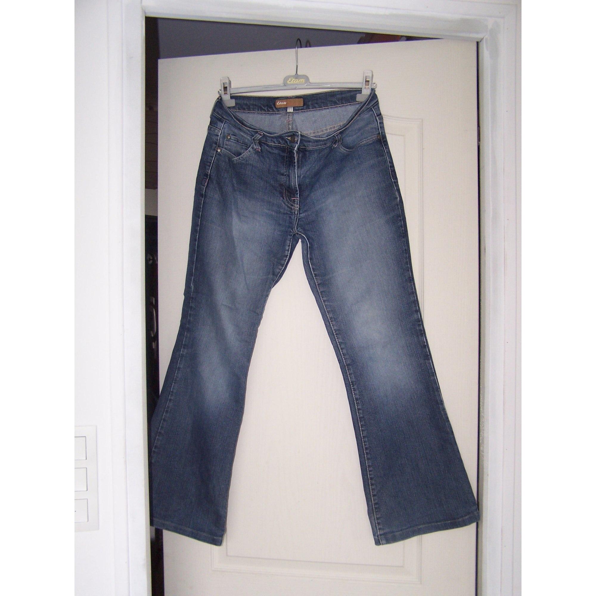 Cut t W32 Jeans Bleu Etam Boot 42 227063 Évasé qXqawErv