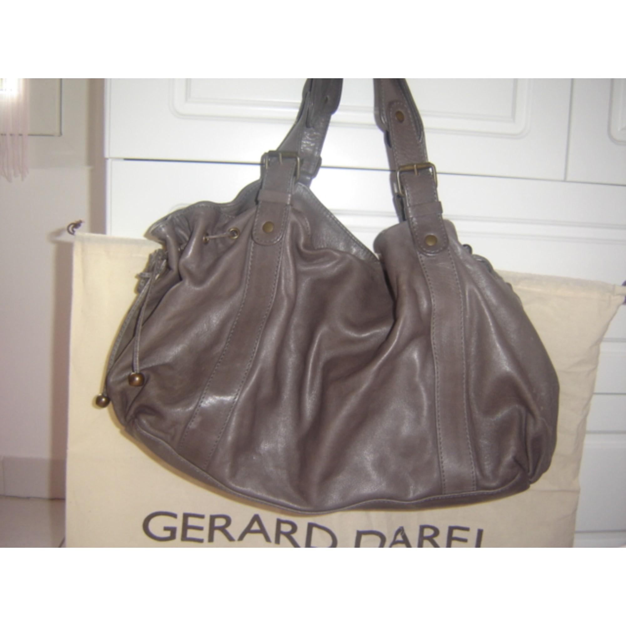 a8ac39574c176 Sac à main en cuir GERARD DAREL gris vendu par Nanie2b54543 - 227240