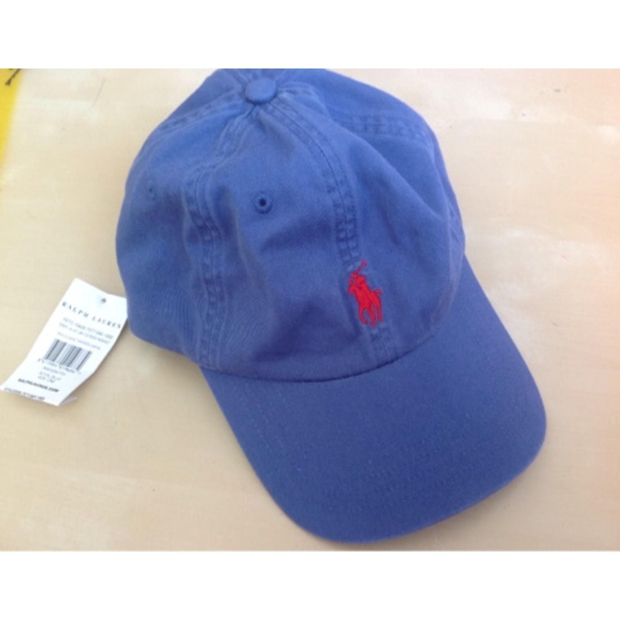Casquette RALPH LAUREN Bleu, bleu marine, bleu turquoise 42d28a69da3