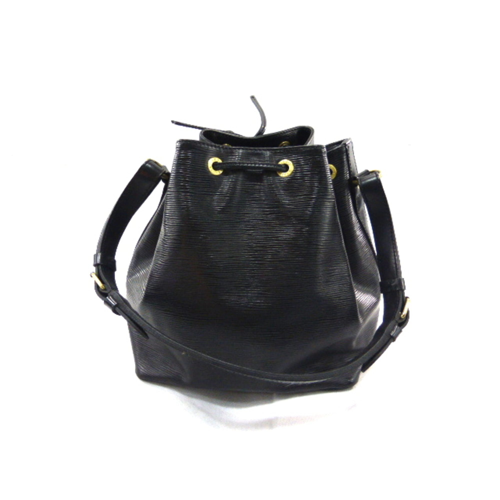 2b38043938f19 Sac en bandoulière en cuir LOUIS VUITTON noir vendu par 1976 estelle ...