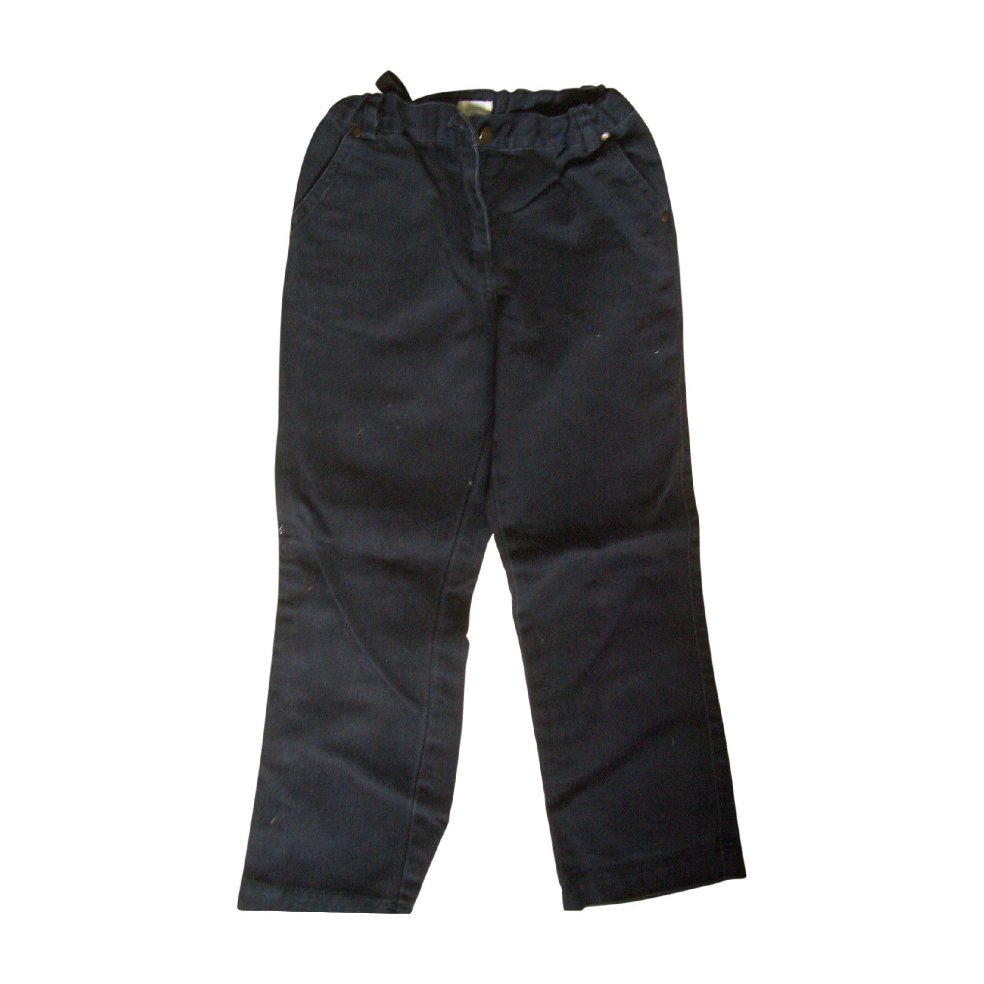 Jeans droit JACADI Bleu, bleu marine, bleu turquoise