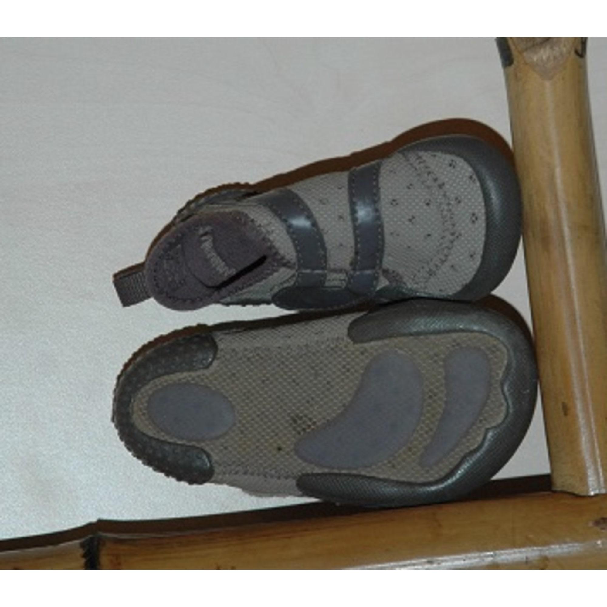 Chaussons   pantoufles DOMYOS 22 beige vendu par Coqhot - 2327465 4c3844fe346
