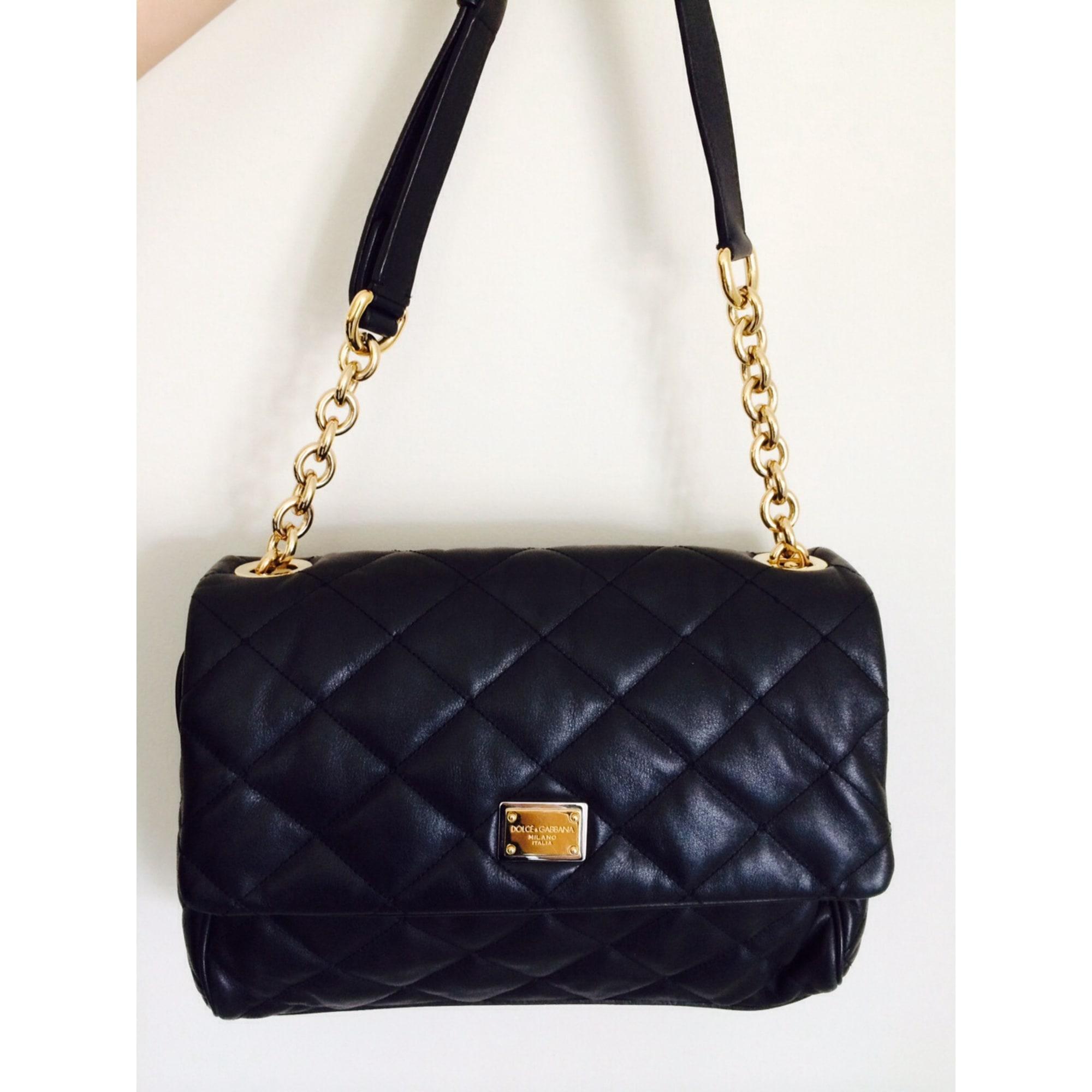 Vendu Par Noir Cuir Sac Parislondon Main Dolceamp; Gabbana À En NwOvm8n0