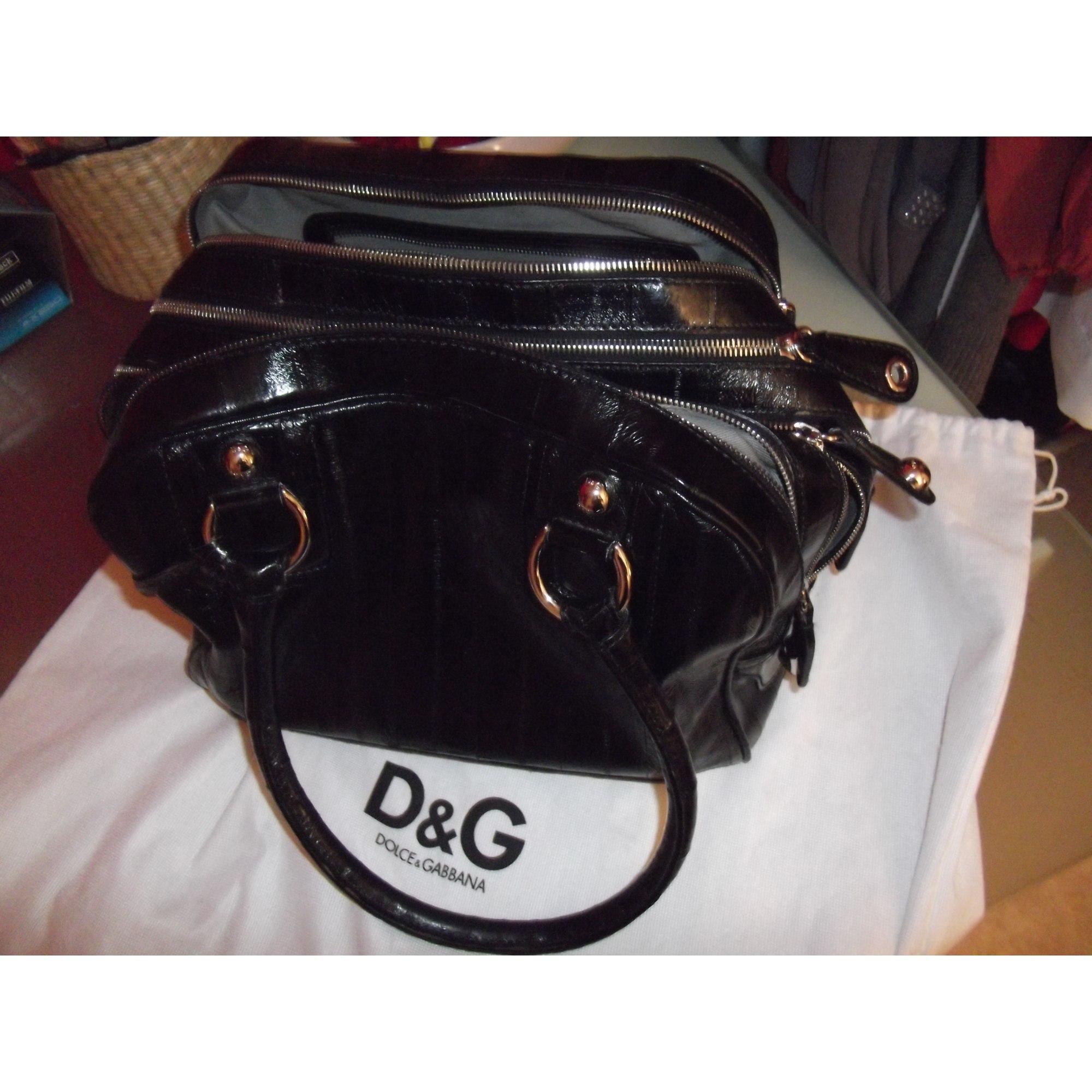 Sac à main en cuir DOLCE   GABBANA noir vendu par Musicbox6756414 ... 9cf37383685a