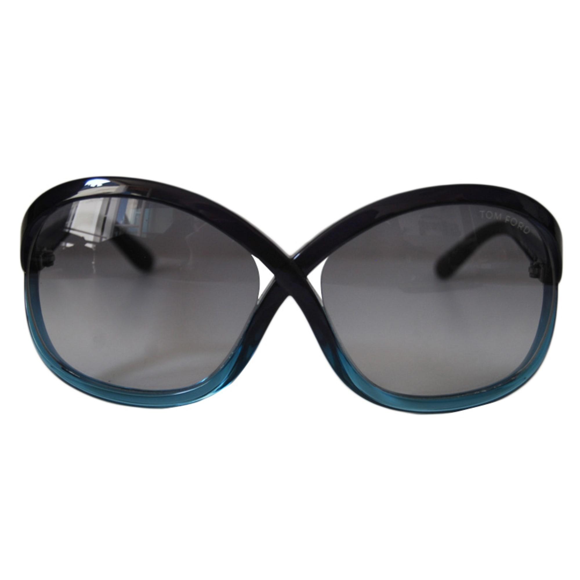 ... Lunettes de soleil TOM FORD Bleu, bleu marine, bleu turquoise ... 4533658baf45