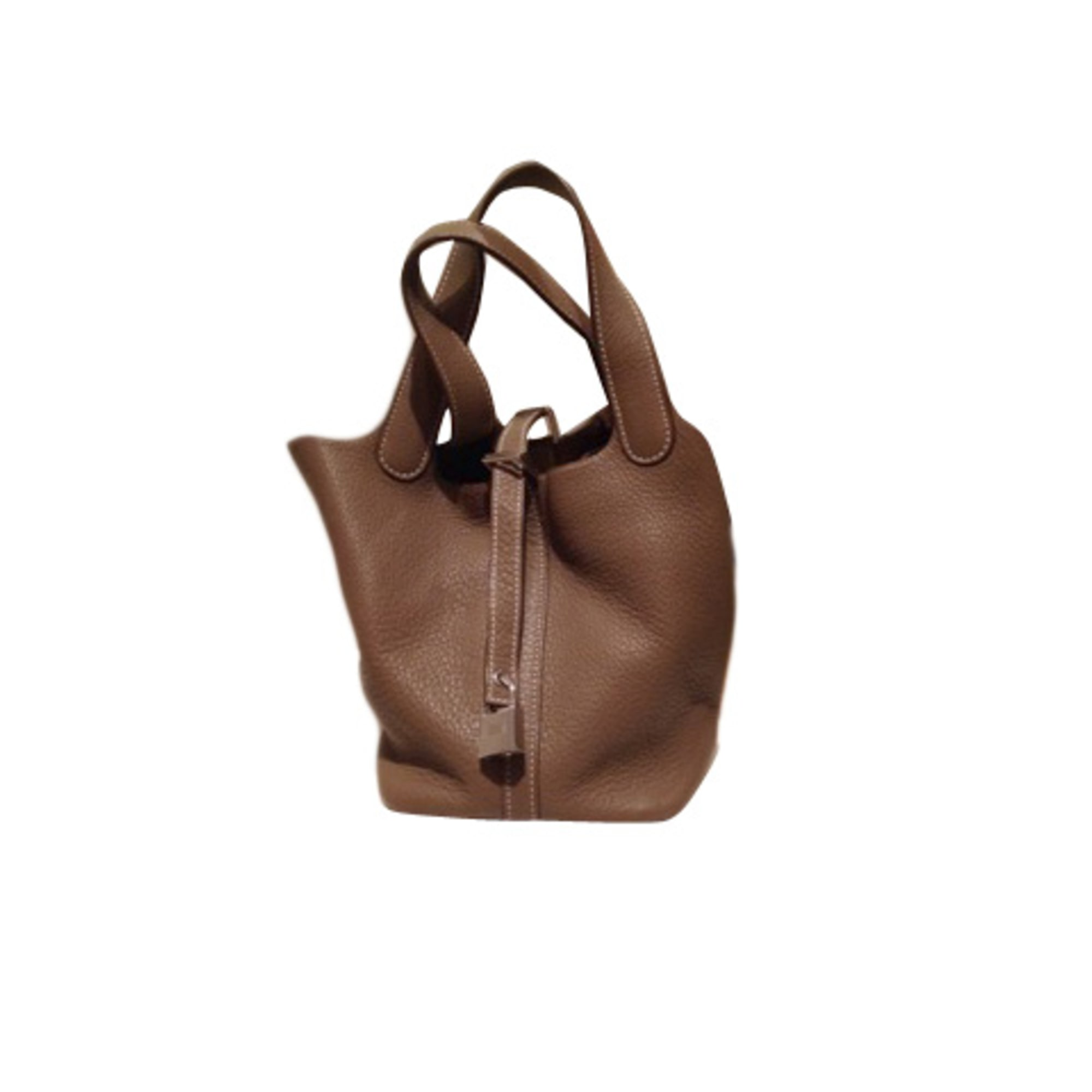 8c5fee82c6 Sac à main en cuir HERMÈS beige vendu par Beatrix kiddo - 2358219