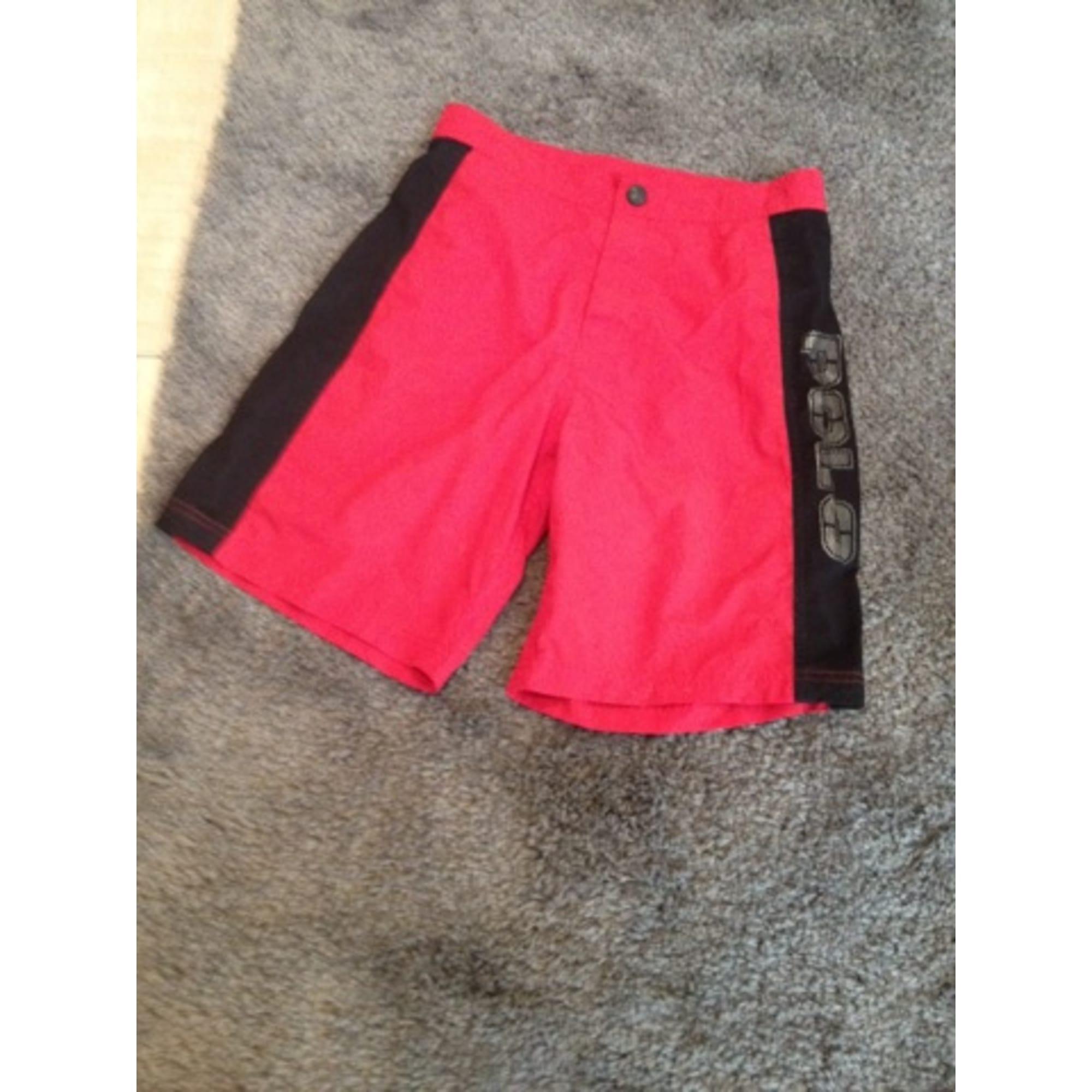 Swimming Bermuda Shorts RALPH LAUREN Red, burgundy