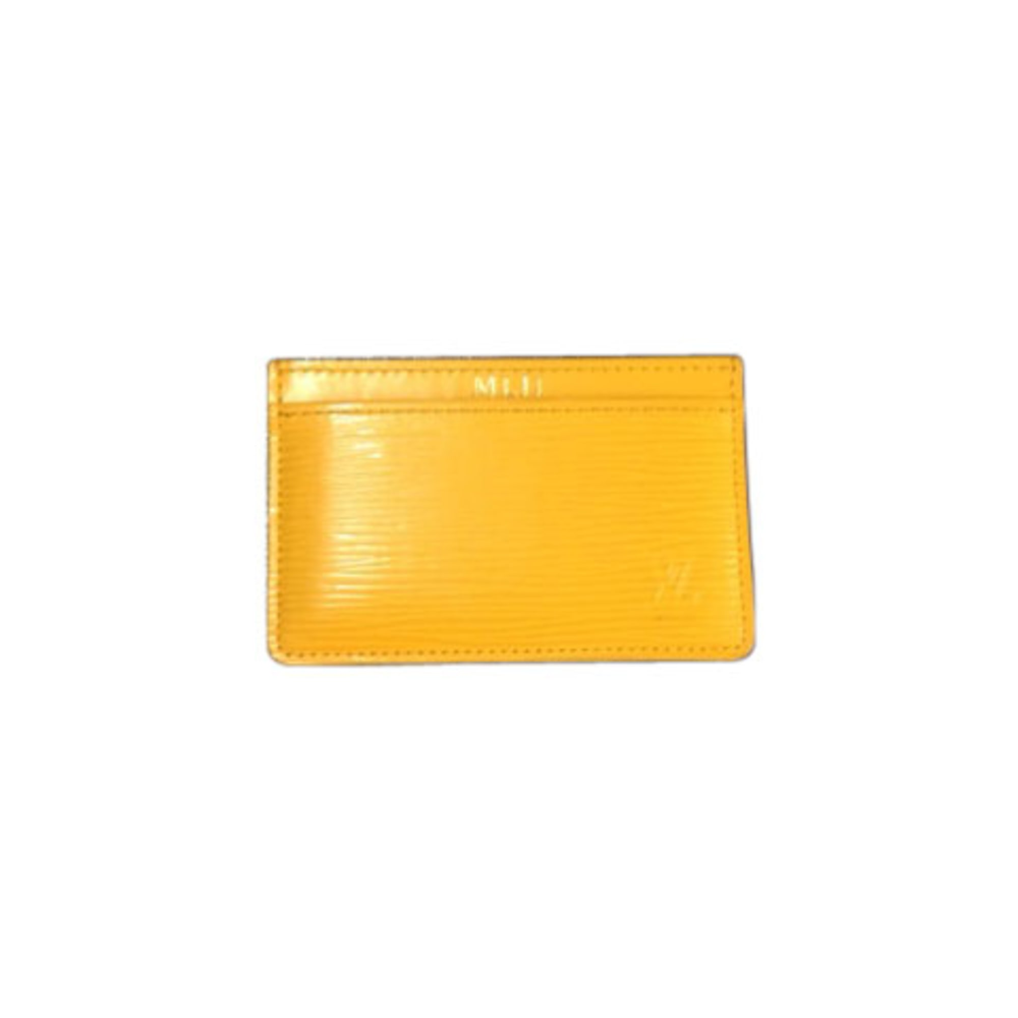 Porte-cartes LOUIS VUITTON jaune - 2381206 48cb203e5c5