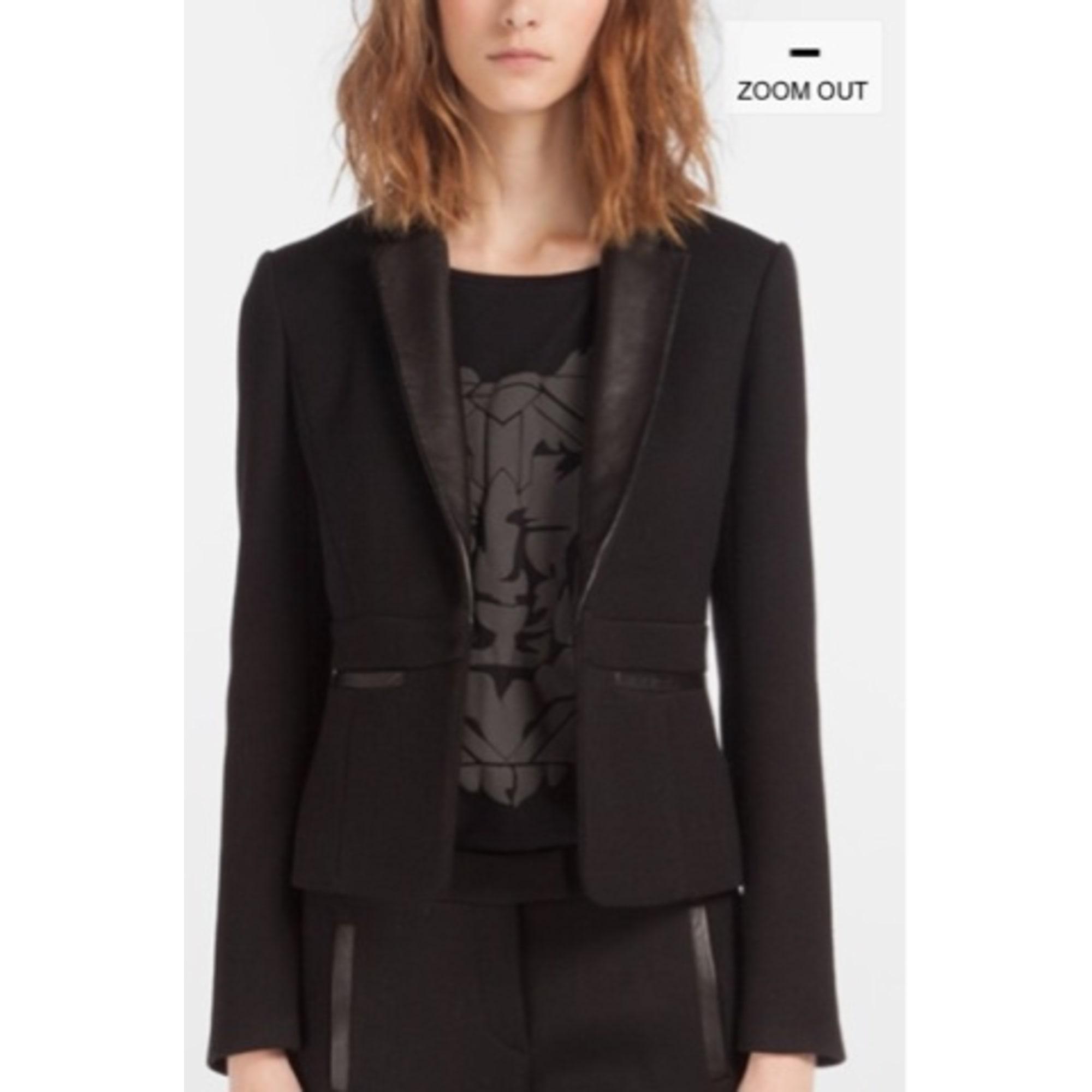 Blazer, veste tailleur MAJE 38 (M, T2) noir vendu par Sarah ... f6206af6ec08