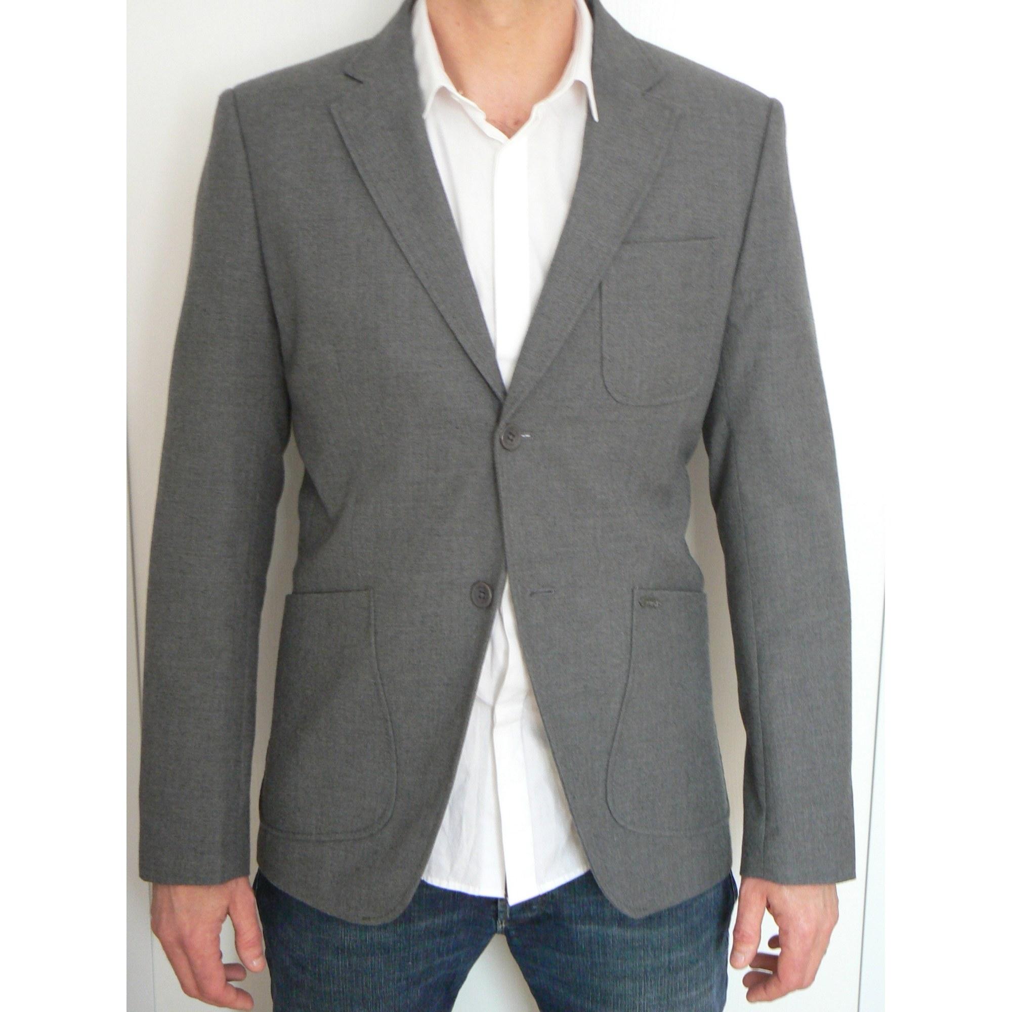 veste scotch soda autre gris vendu par mfilmotte473610. Black Bedroom Furniture Sets. Home Design Ideas