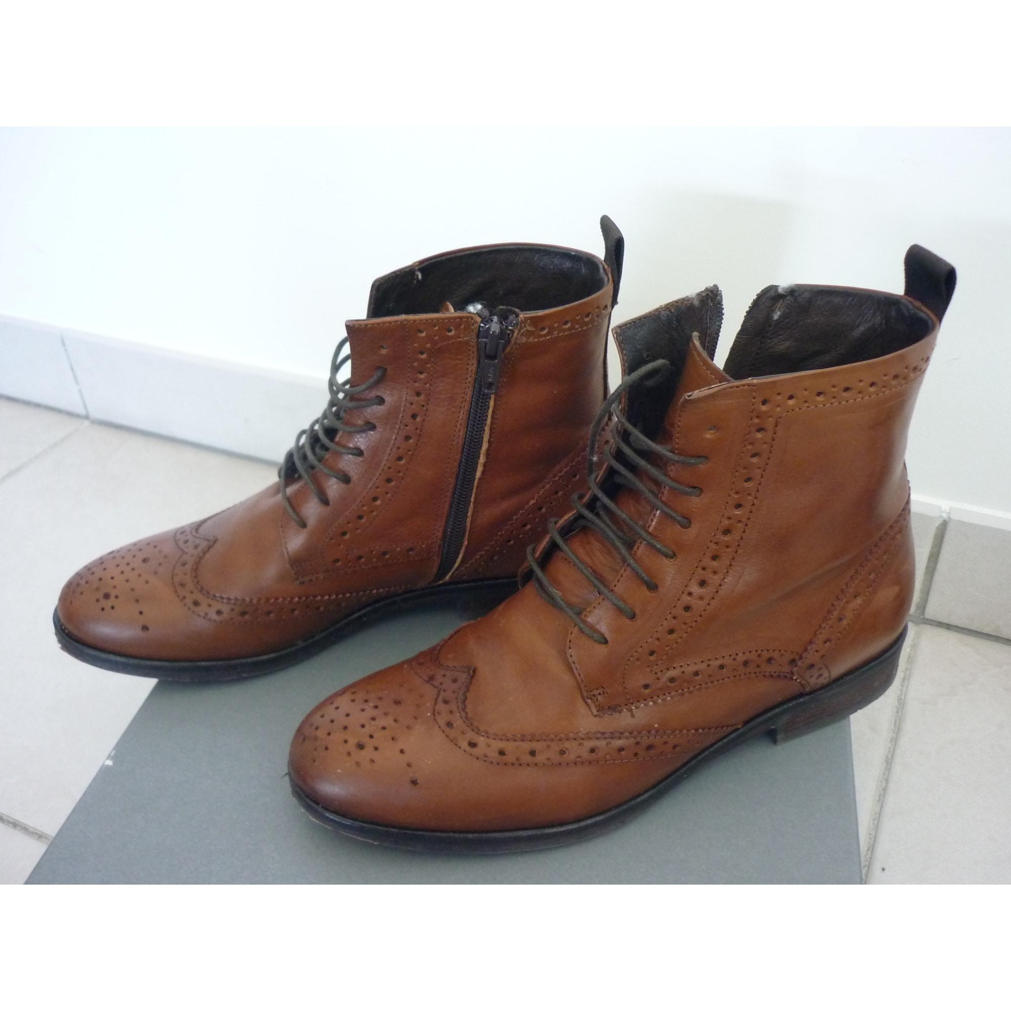 Low Par T6dwqxp Minelli Marron Lucie Vendu Amp; 37 Boots