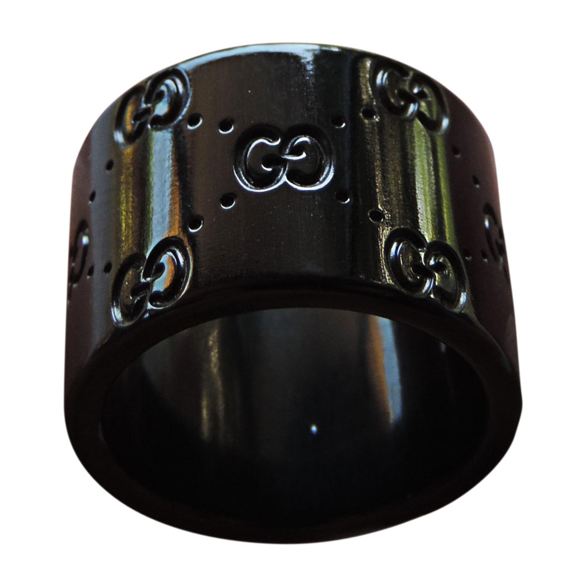 Bague GUCCI 50 noir - 2413605 3999325af8b