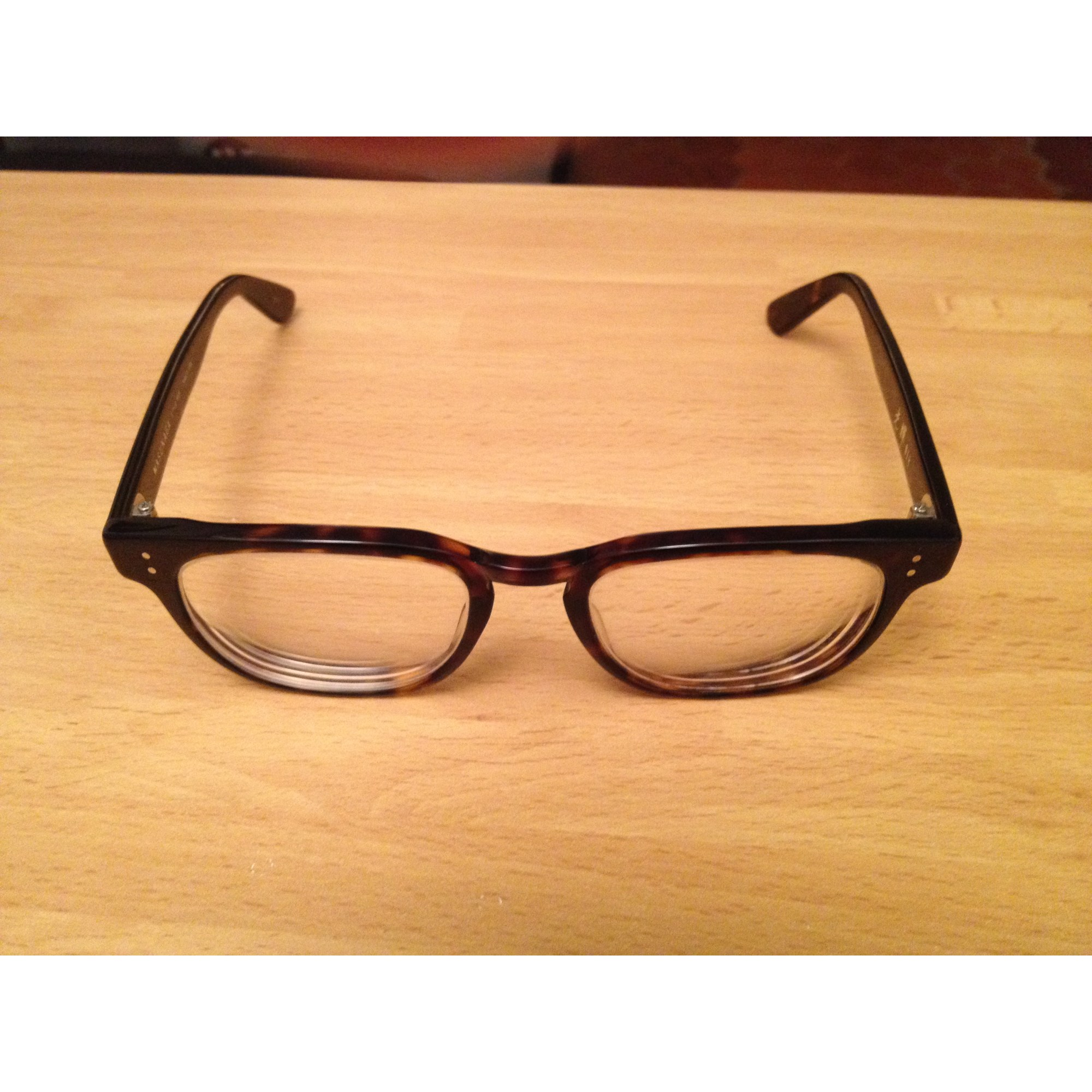 4e40f10be55c44 Monture de lunettes MASUNAGA marron - 2434920