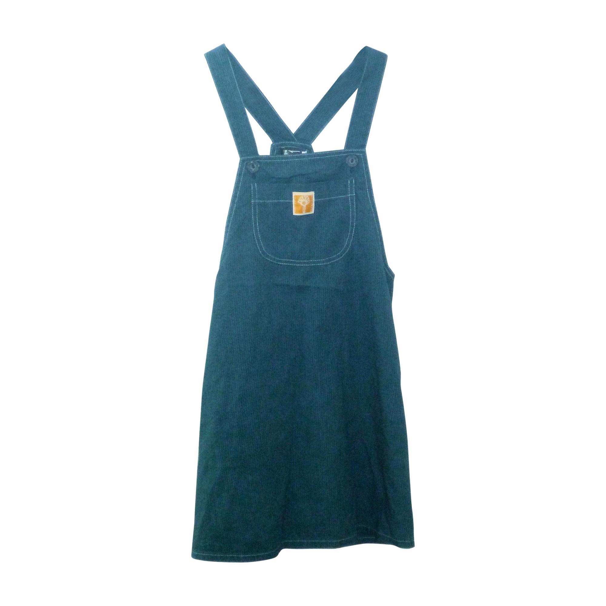 7b72d551dcdf9 Robe JEAN BOURGET 7-8 ans bleu vendu par K a95779 - 2477478