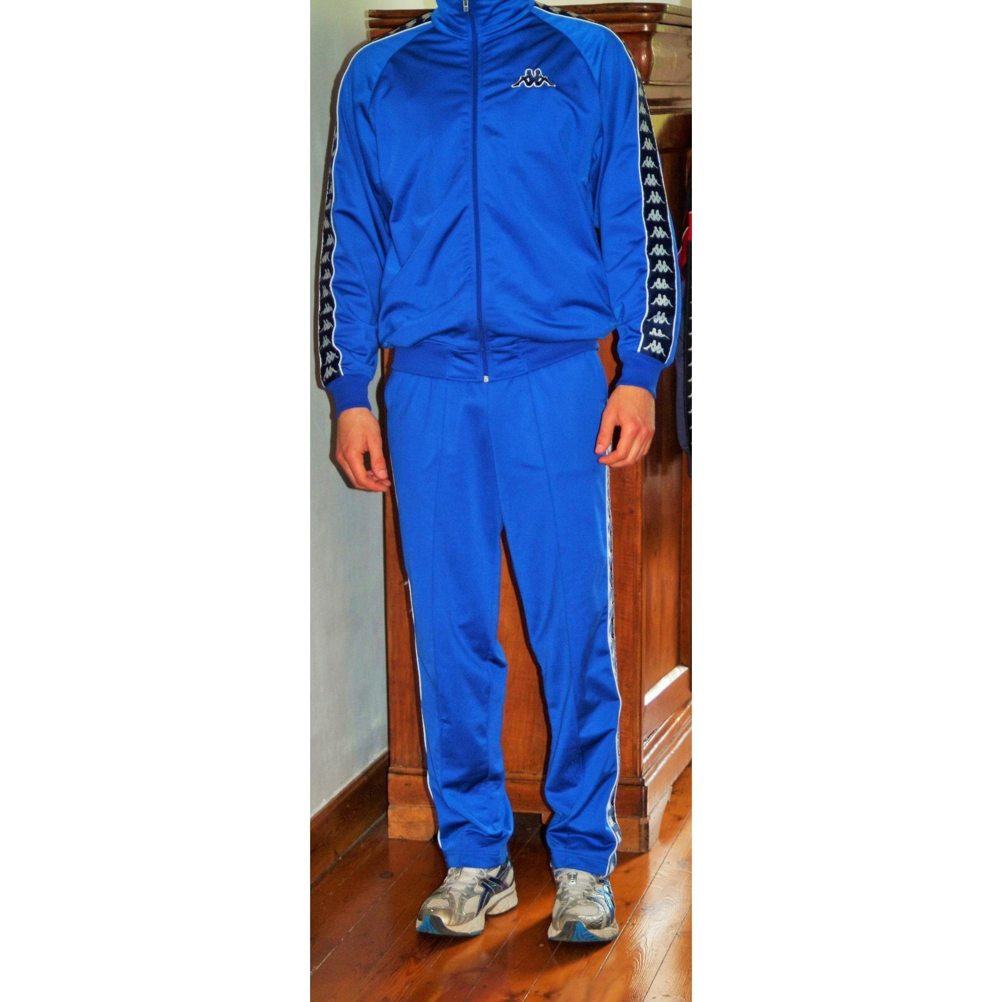 33867087e719e Ensemble jogging KAPPA 50 (M) bleu - 2478993