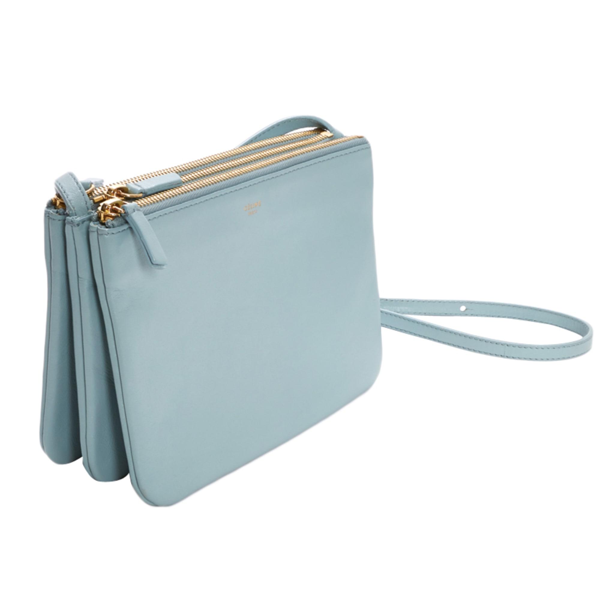 5a30c761ad Sac en bandoulière en cuir CÉLINE bleu vendu par Emma 2897885 - 2489913