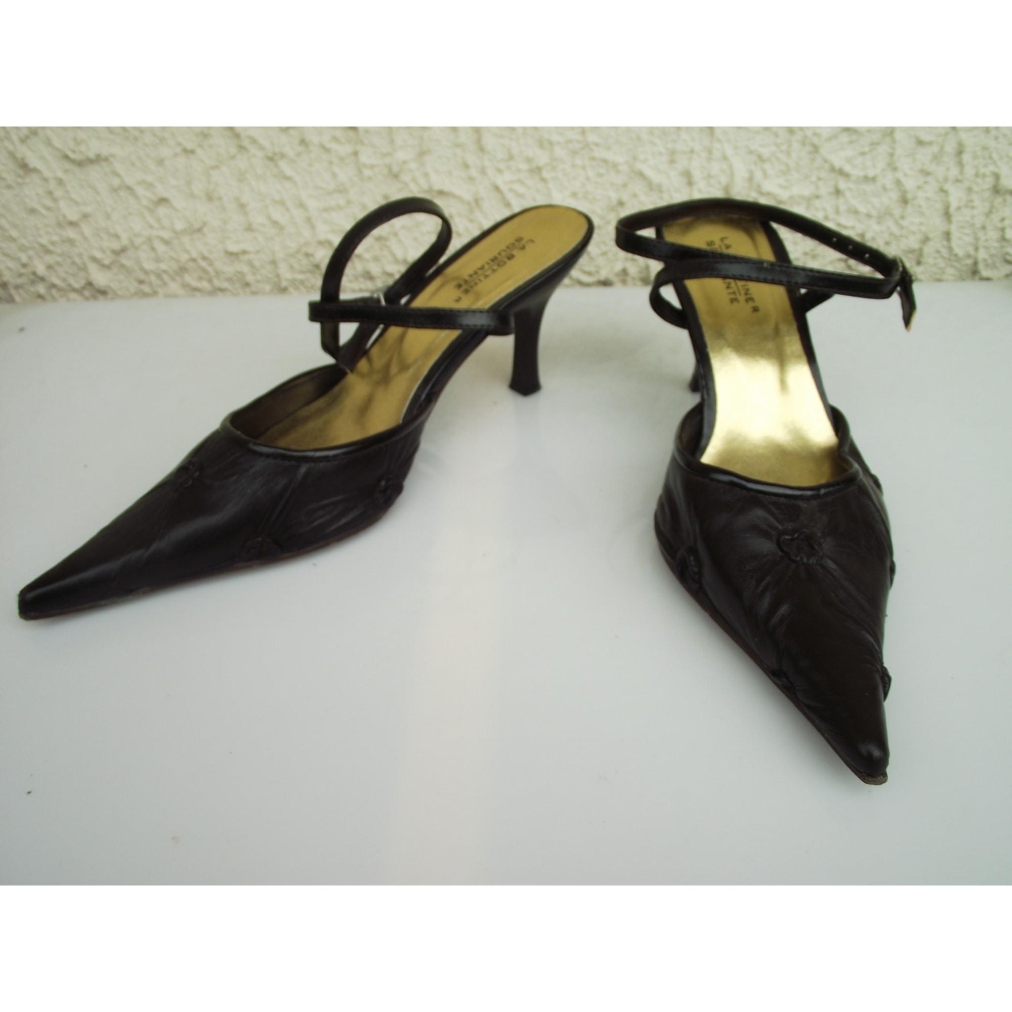 Sandales à talons LA BOTTINE SOURIANTE 36 marron 2506648