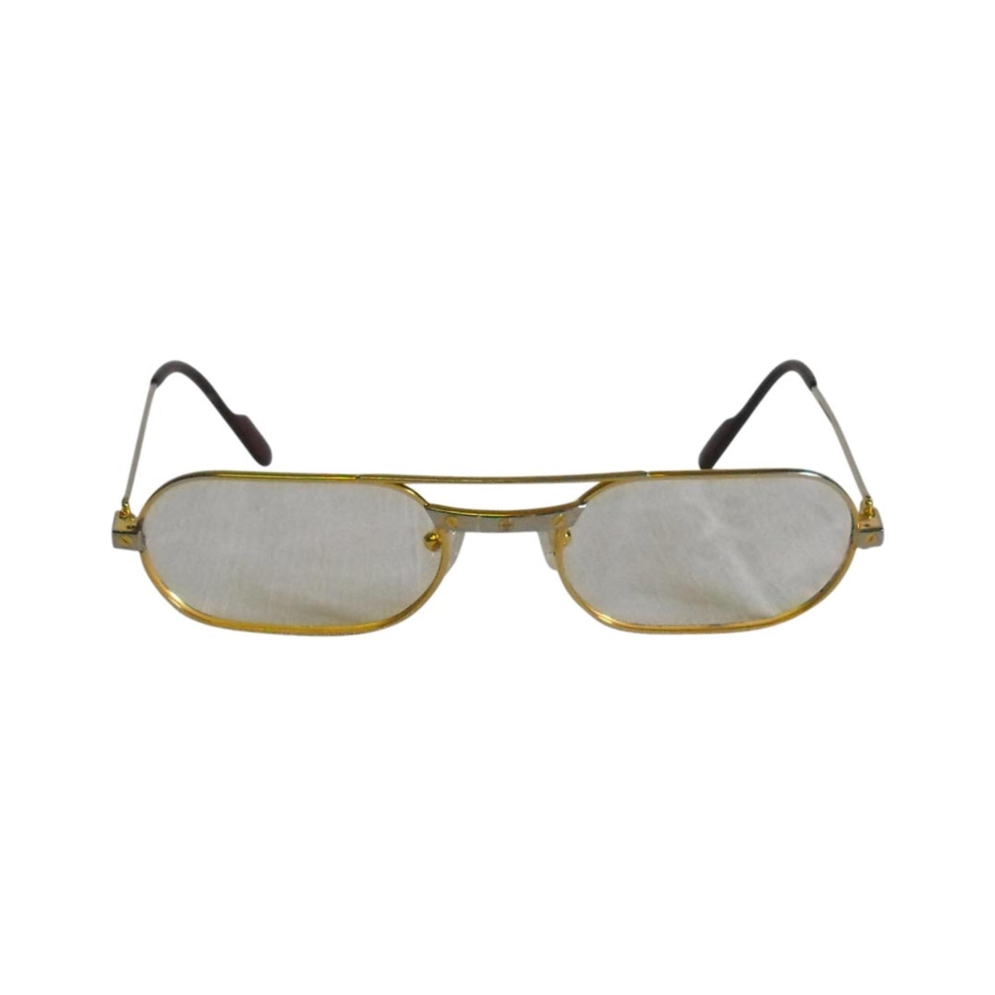 Monture de lunettes CARTIER doré vendu par La trouvaille 42 - 2521527 cdeab63f8810