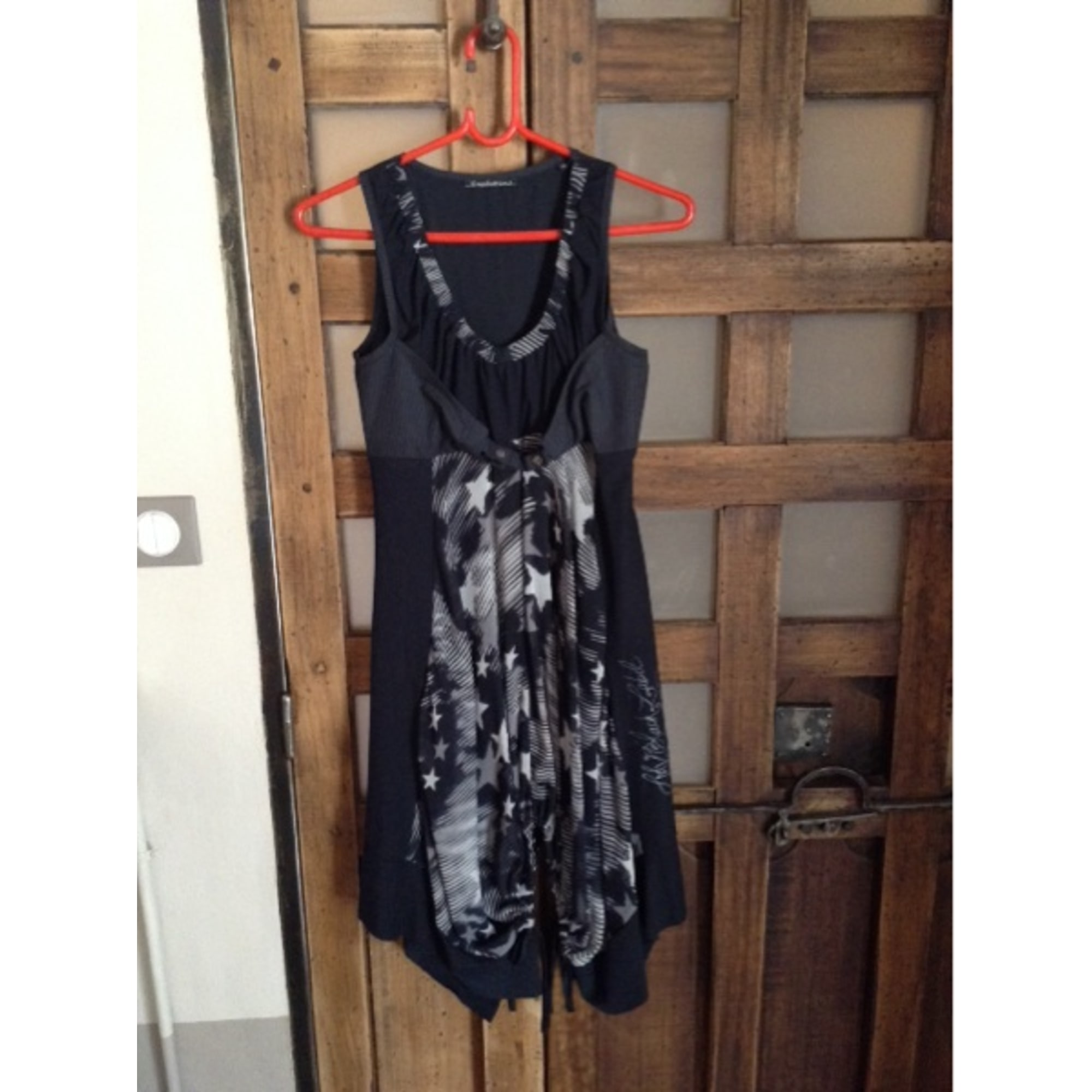 Robe tunique LA MODE EST À VOUS Noir