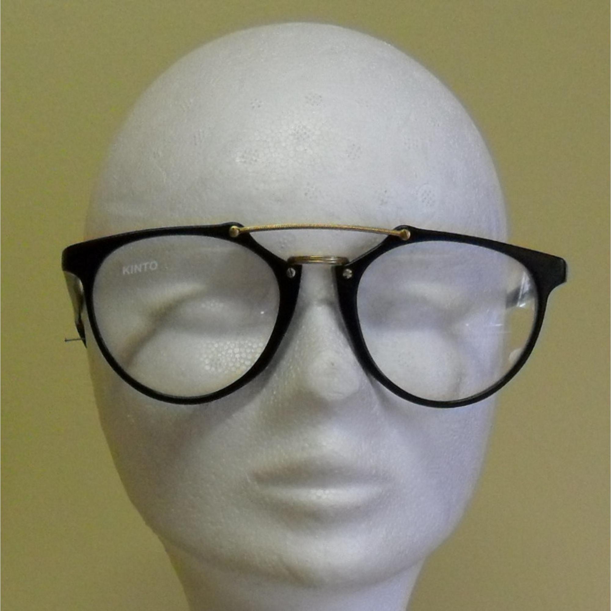 fc8ec01f27b220 Monture de lunettes KINTO doré et noir - 2577520